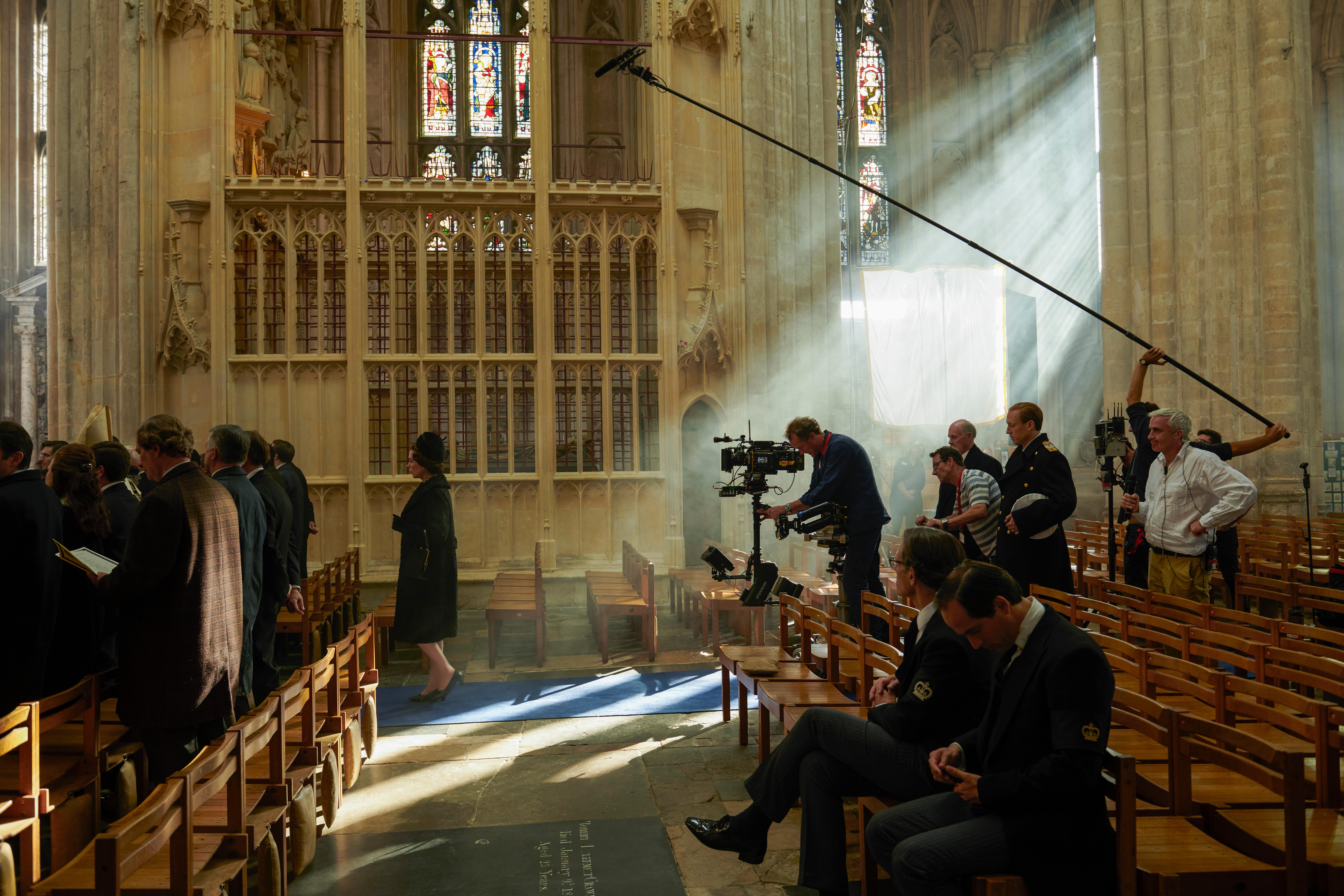 Queen Olivia Colman, an epic budget and a cast of thousands: a year behind the scenes on The Crown