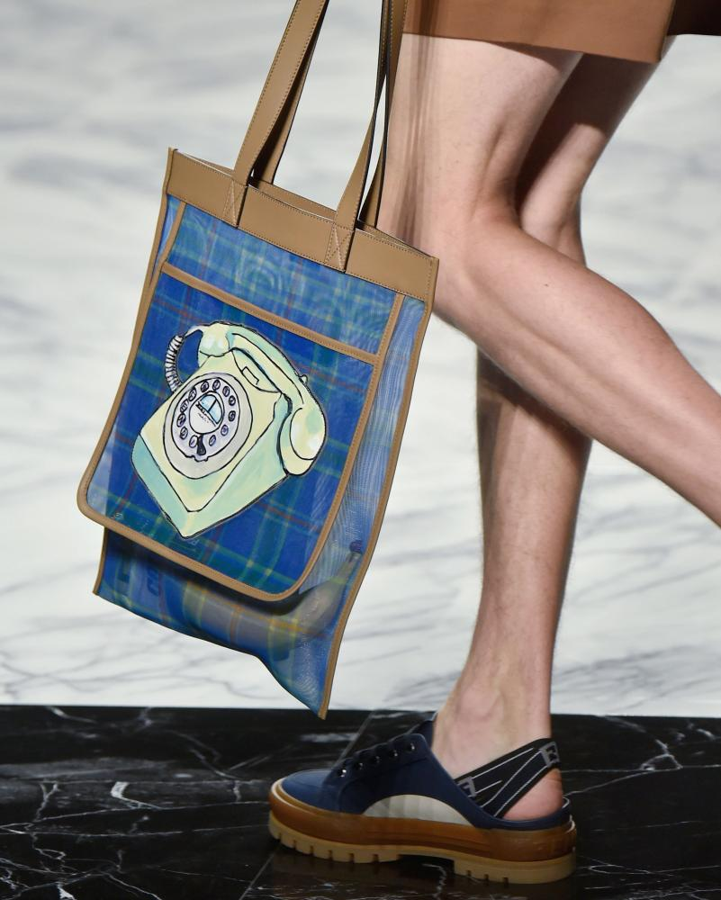A bag from the Fendi spring/summer 2018 collection