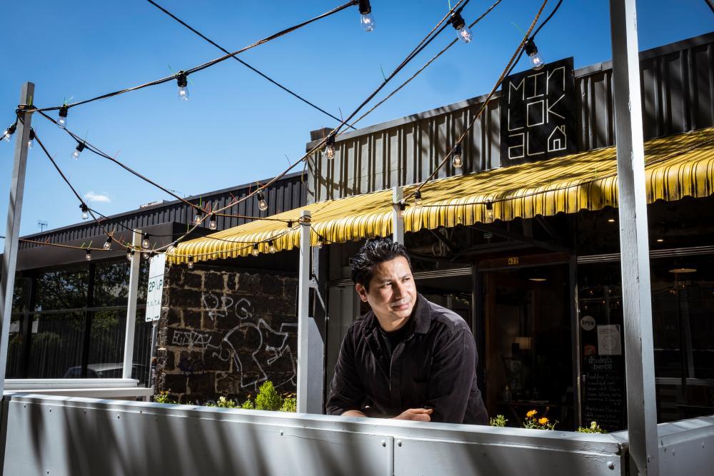 Mal Panthi, Owner/Manager of Fitzroy cafe Min Lokal.