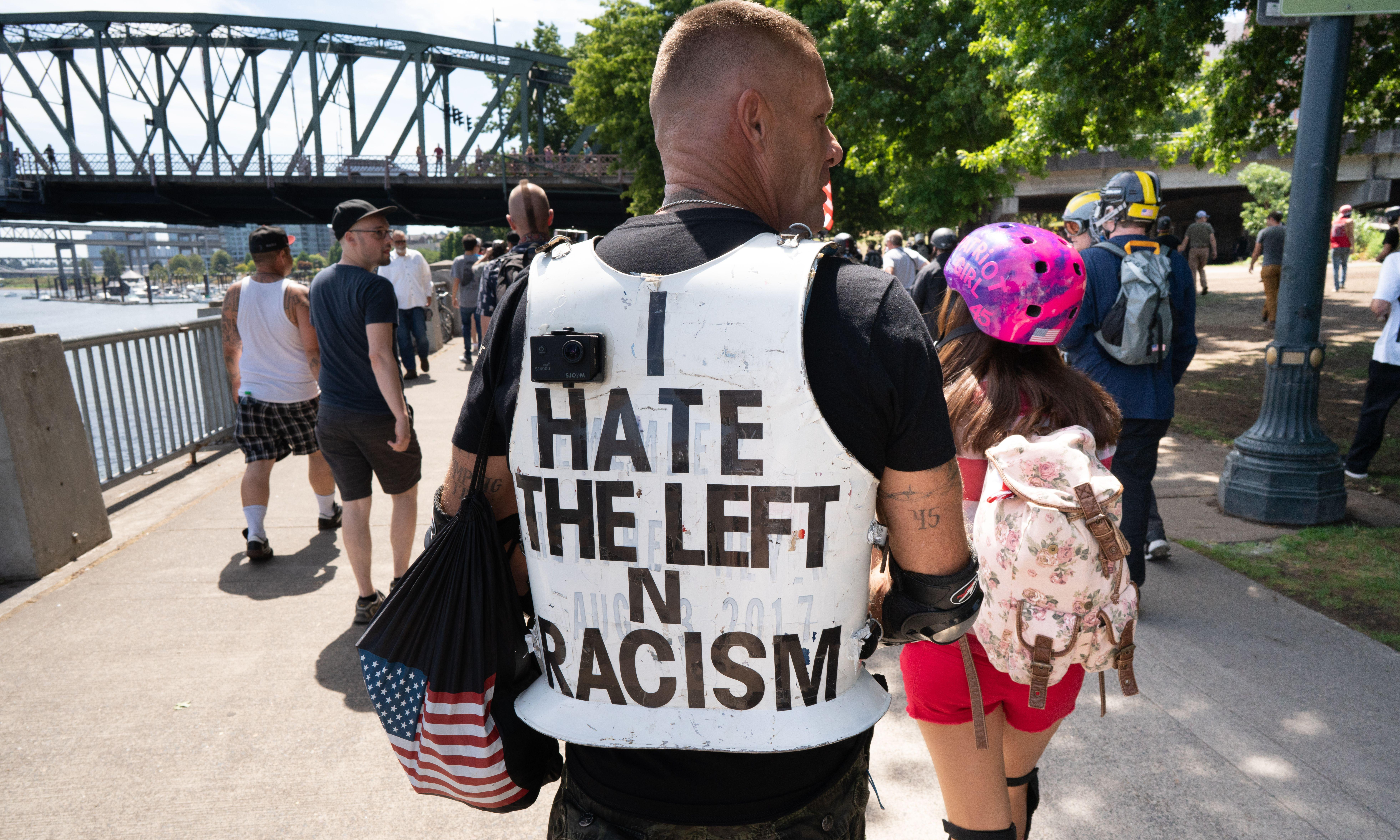 How Portland's liberal utopia became the center of a rightwing war in the US