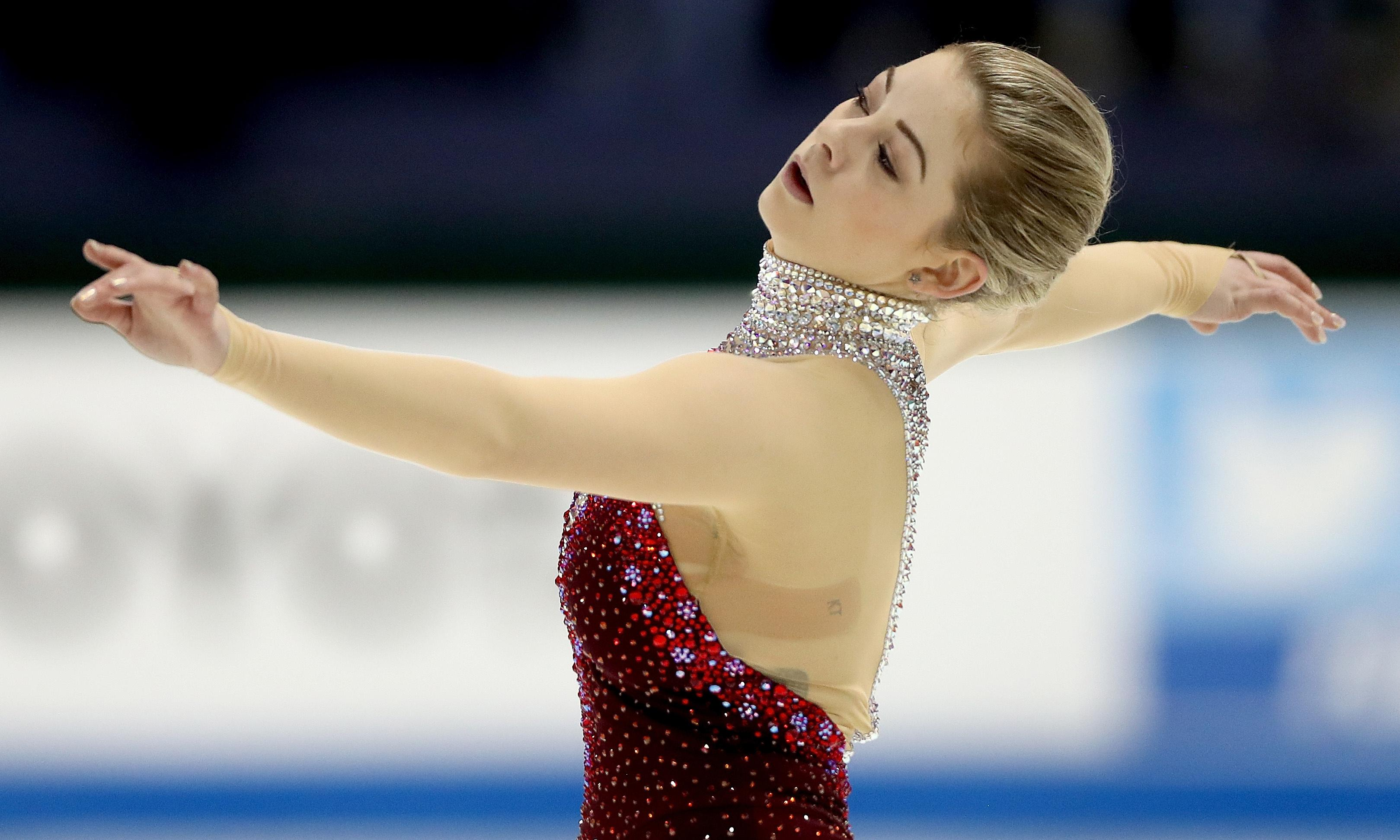 Figure skater Gracie Gold's three-year road back from the abyss