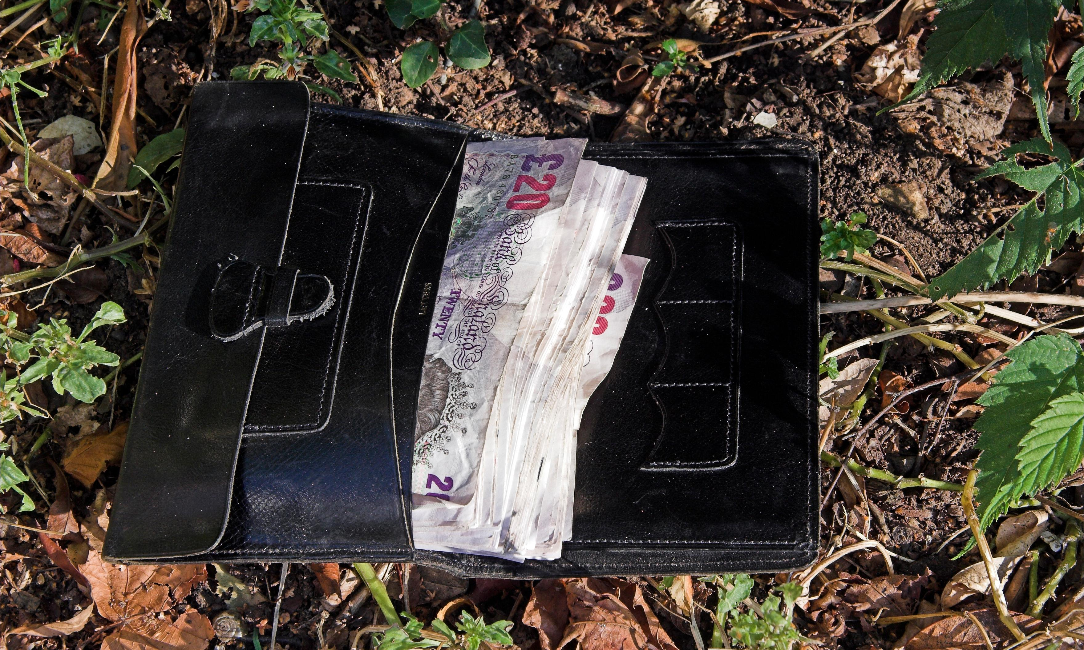 What would you do if you found a wallet? Really? Then prove it