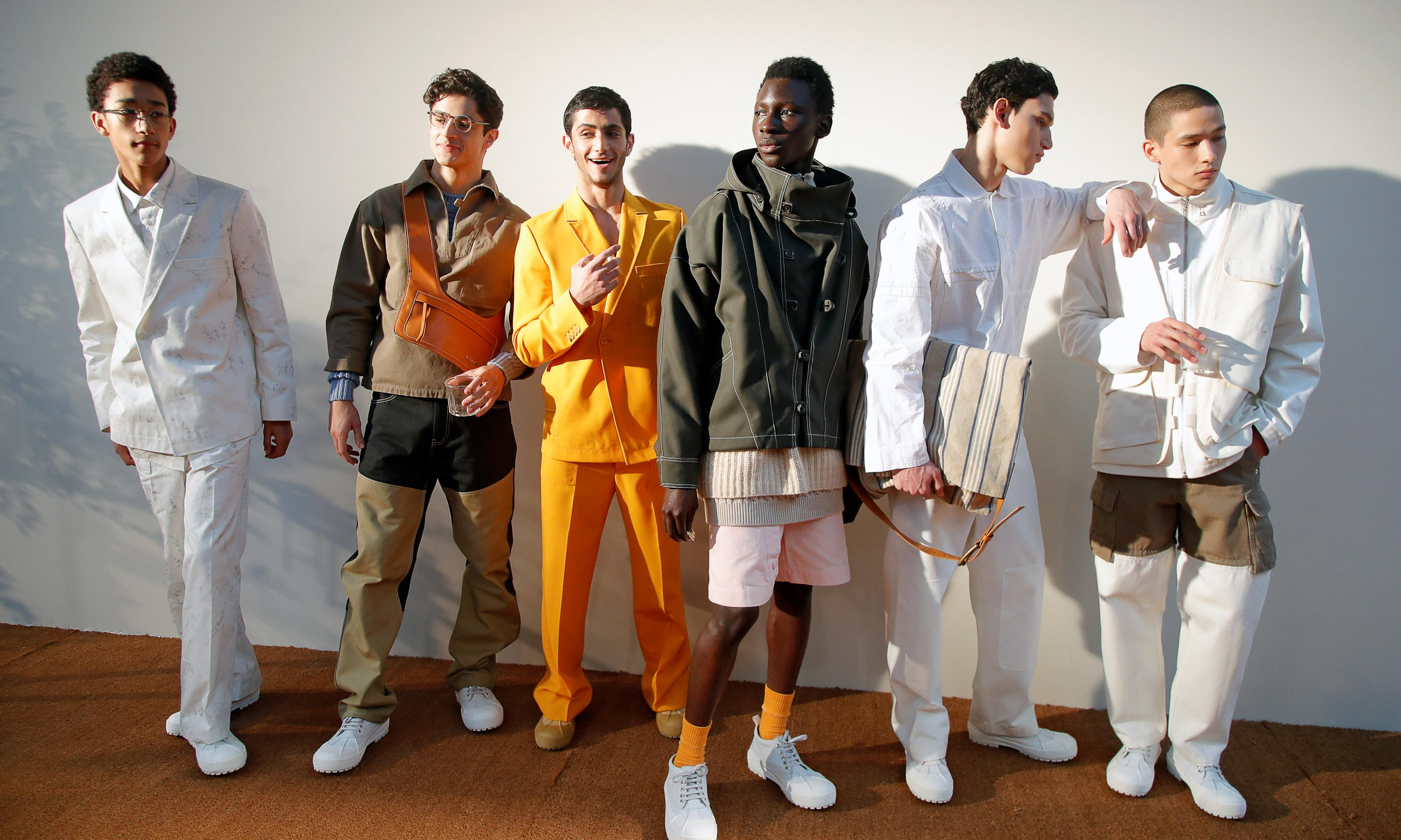 Jacquemus menswear is all work and no play in Paris