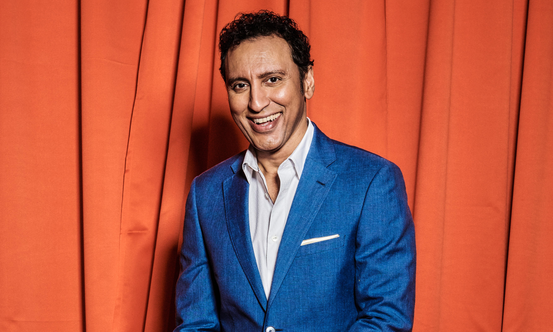 Aasif Mandvi: 'I saw a Ukrainian comedian who made me pee my pants'