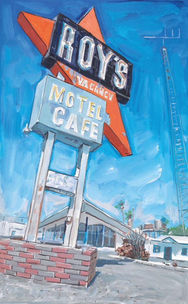 Bob Dylan, Abandoned Motel, Eureka, 2015–2016.