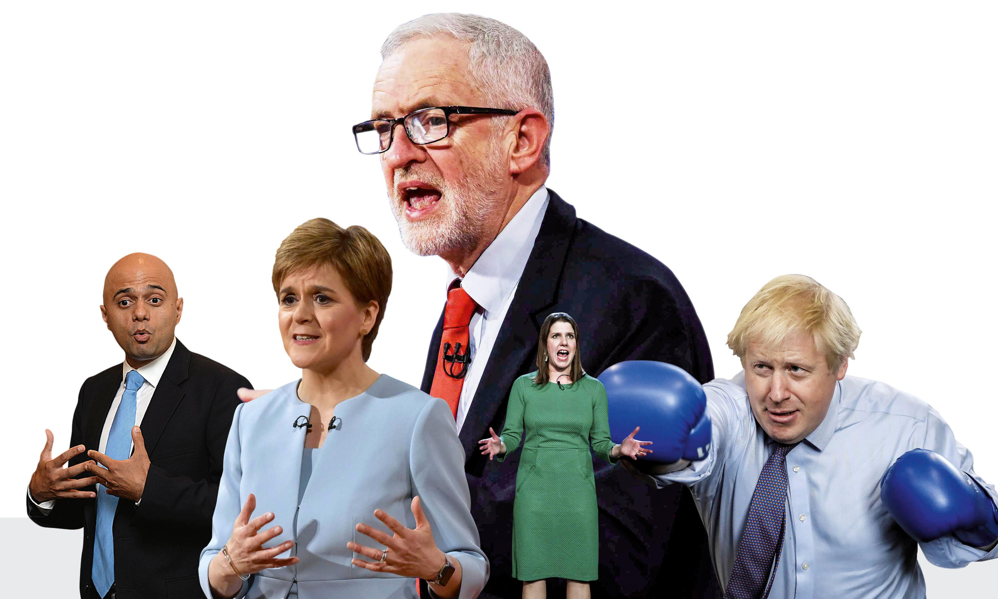 Frankie Boyle's election countdown: 'You'll be praying they prorogue the next parliament'