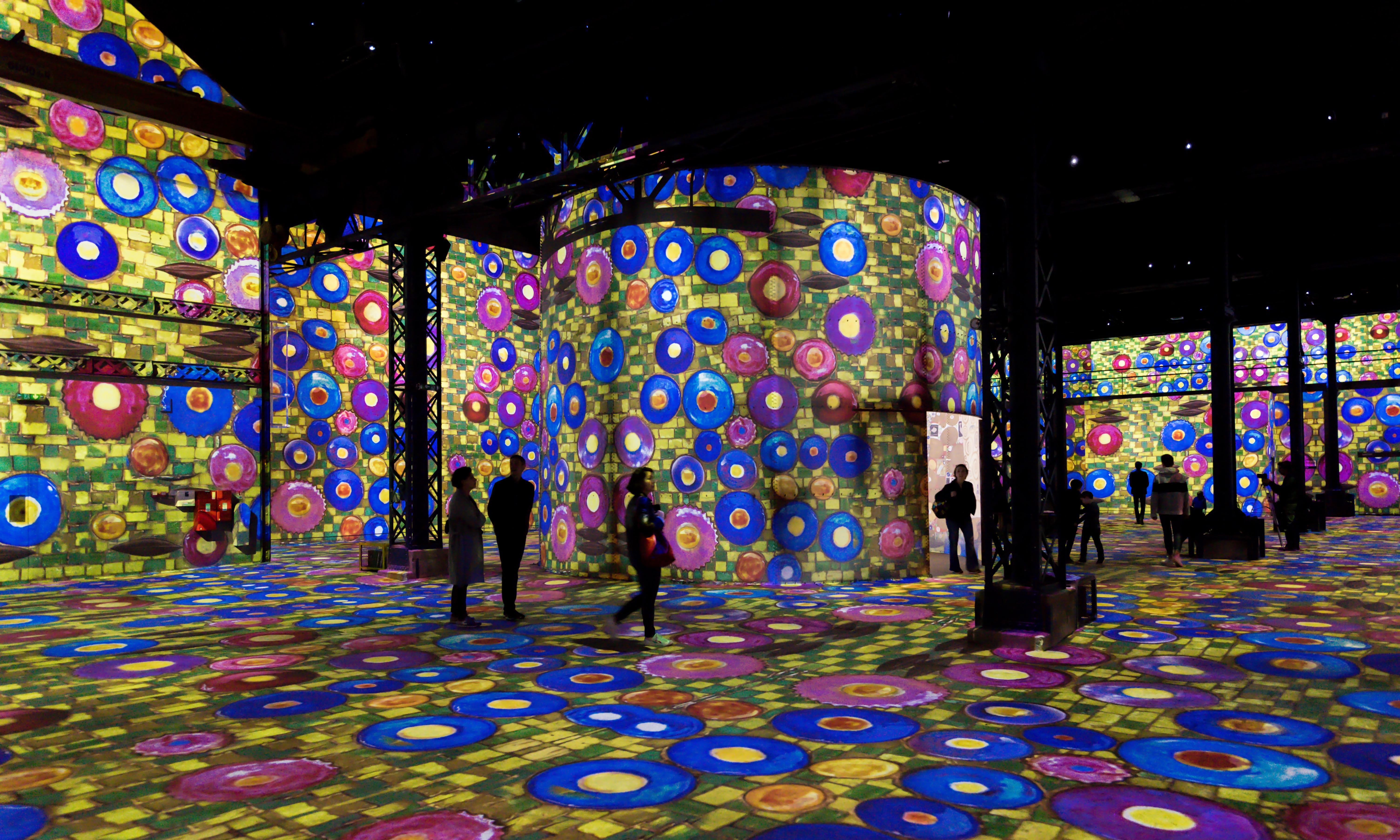 Paris's first digital art museum: all lit up at Atelier des Lumières