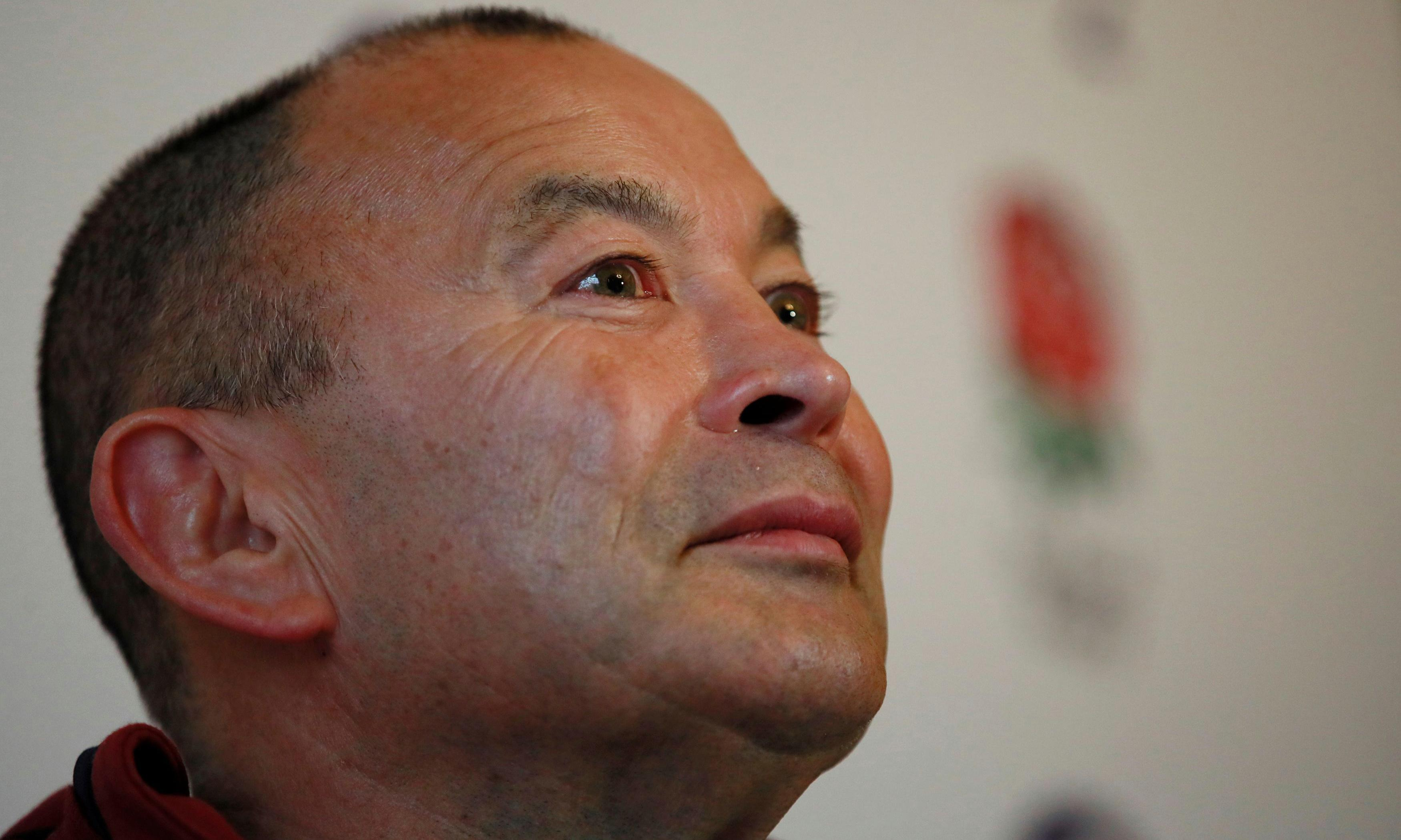 Eddie Jones apologises after making 'half-Asian' comment