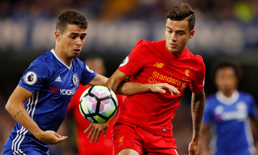 Would Philippe Coutinho, right, be tempted by a move to Barcelona if Liverpool miss out on the Champions League?
