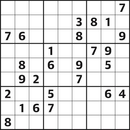 Sudoku 4,325 hard