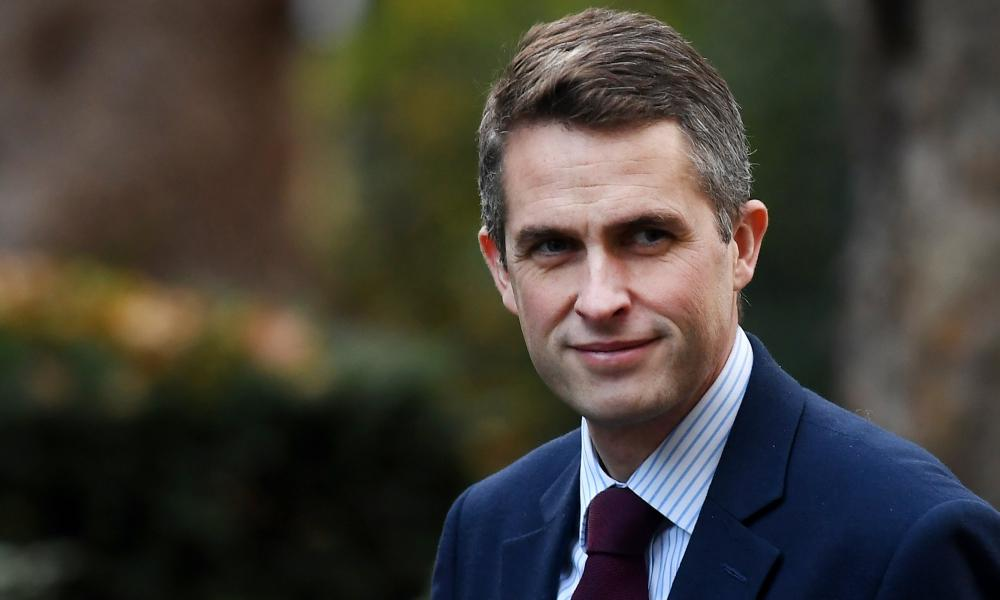 The new secretary of state for defence, Gavin Williamson