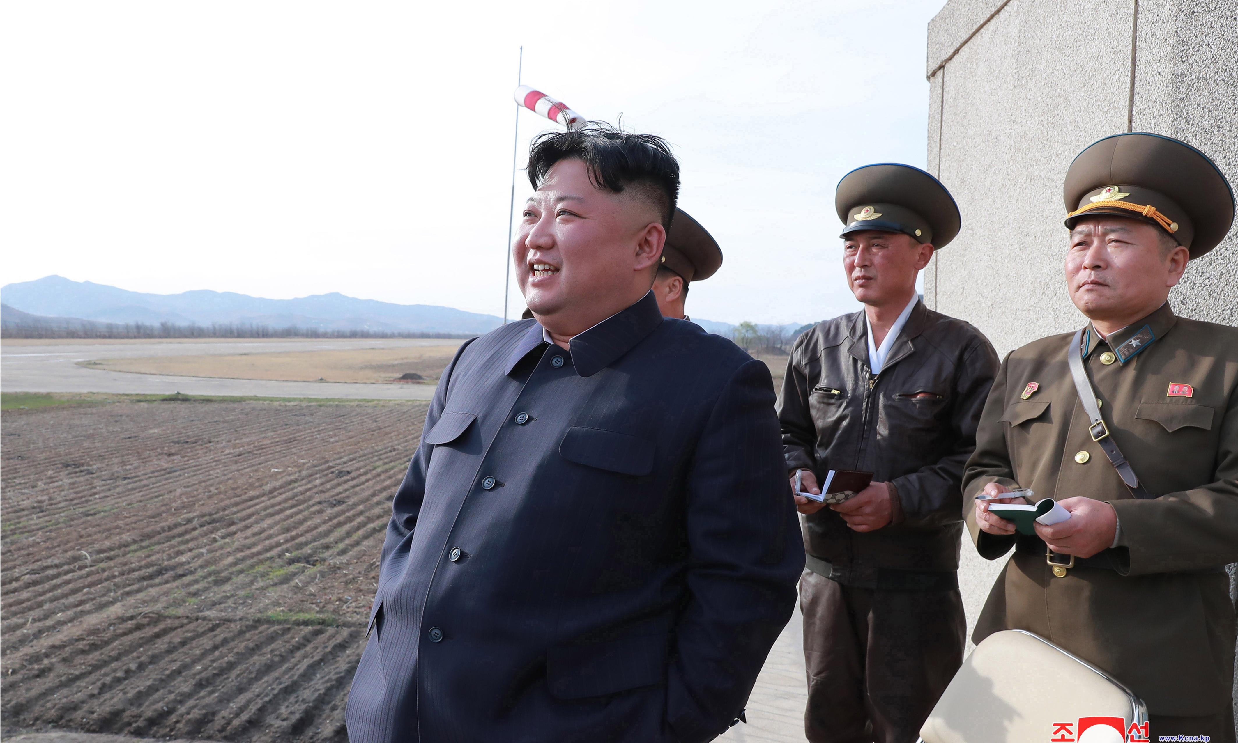 Kim Jong-un oversees first weapons test since failed US-North Korea summit