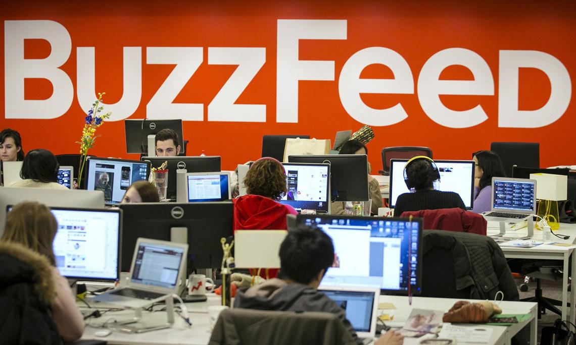 BuzzFeed to lay off 200 staff in latest round of cuts
