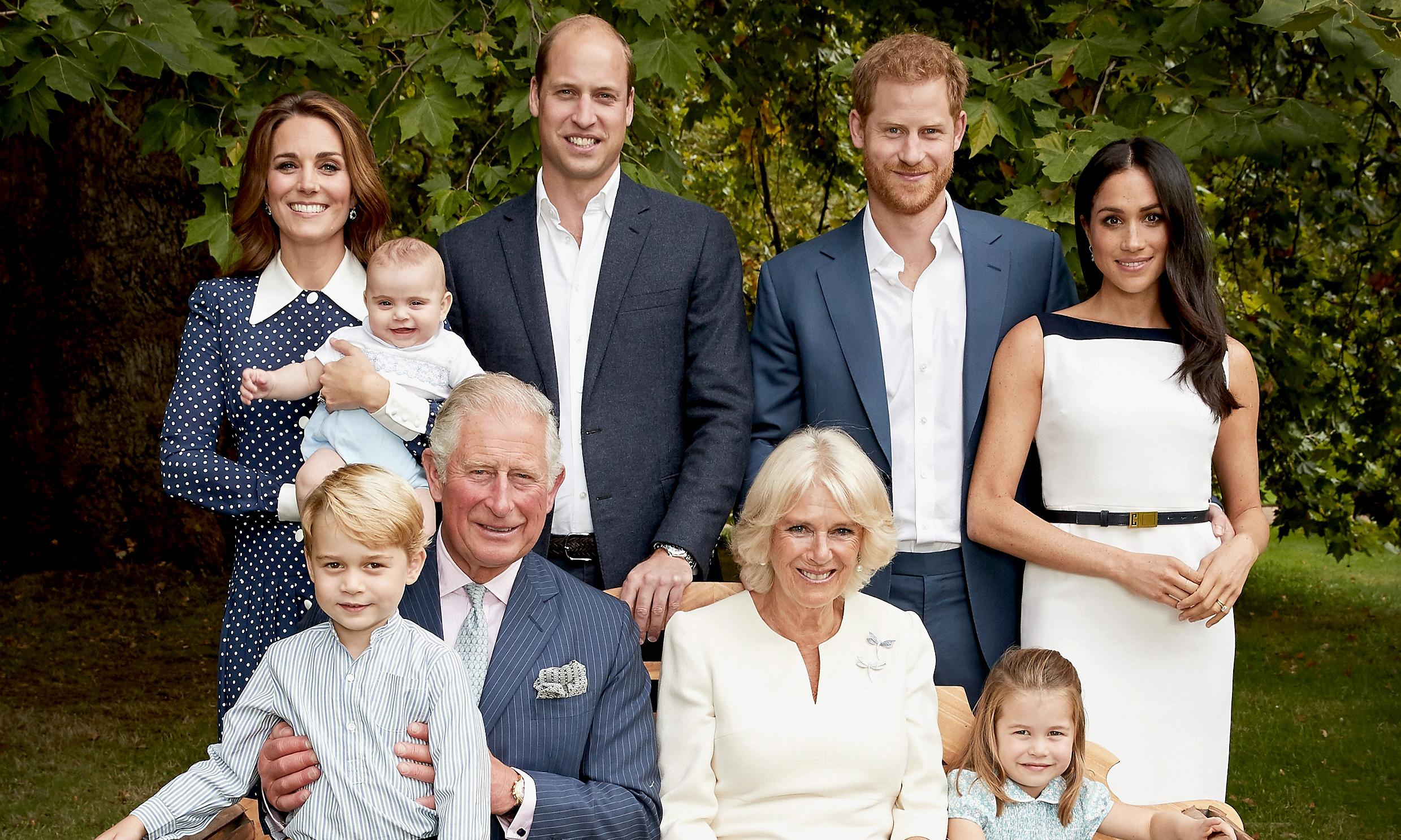 Prince Charles' 70th birthday marked with release of family photo