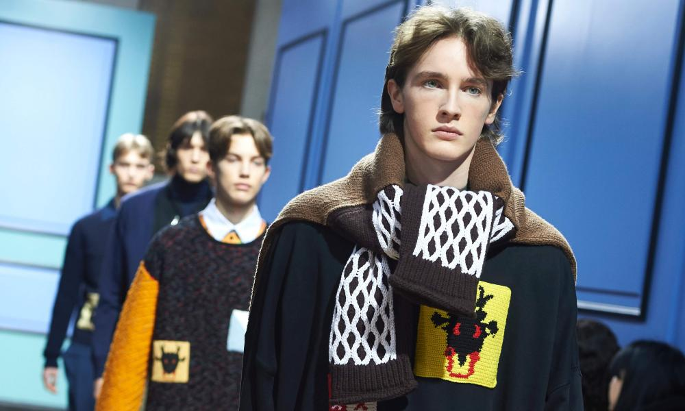 Models show creations by JW Anderson