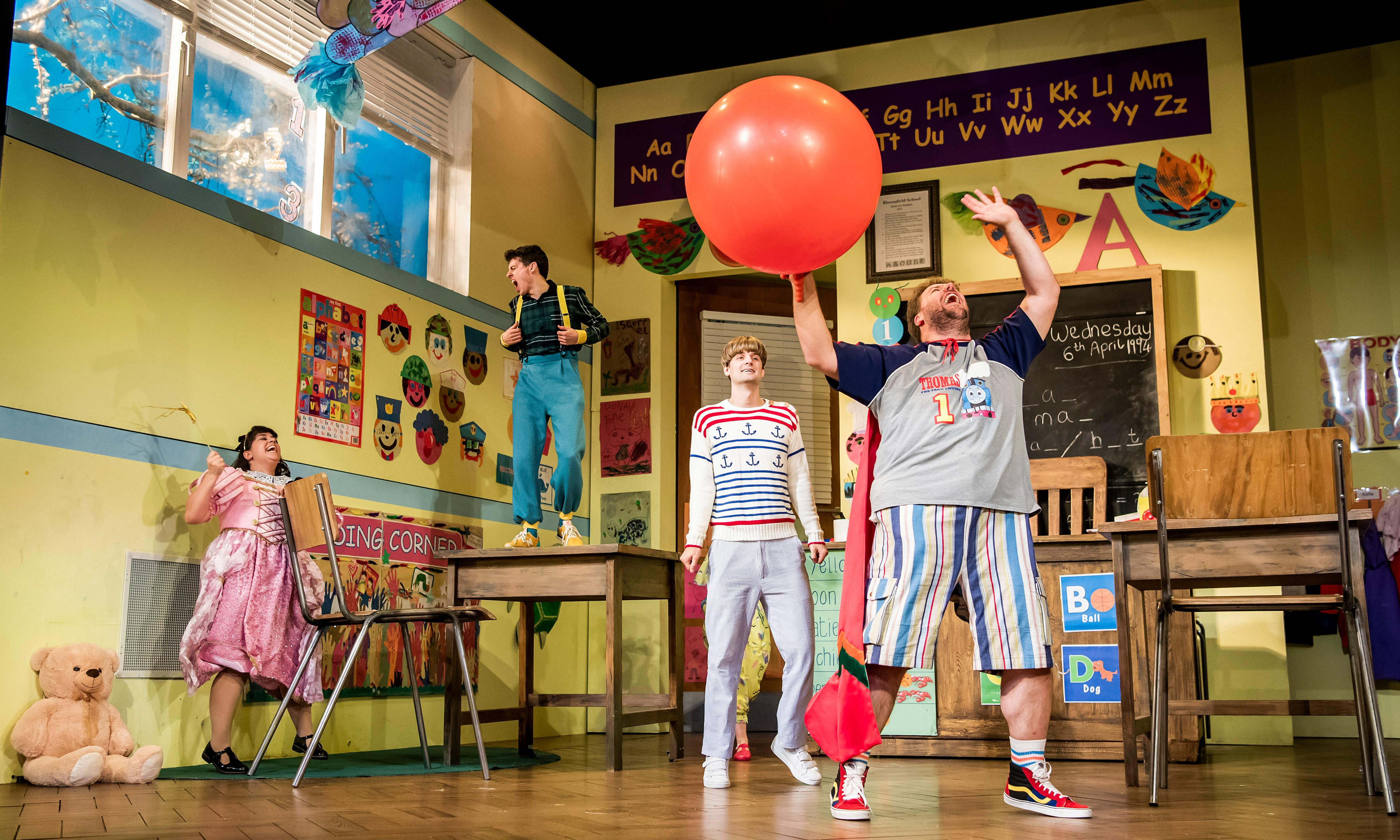 Groan Ups review – school swots and bullies for life