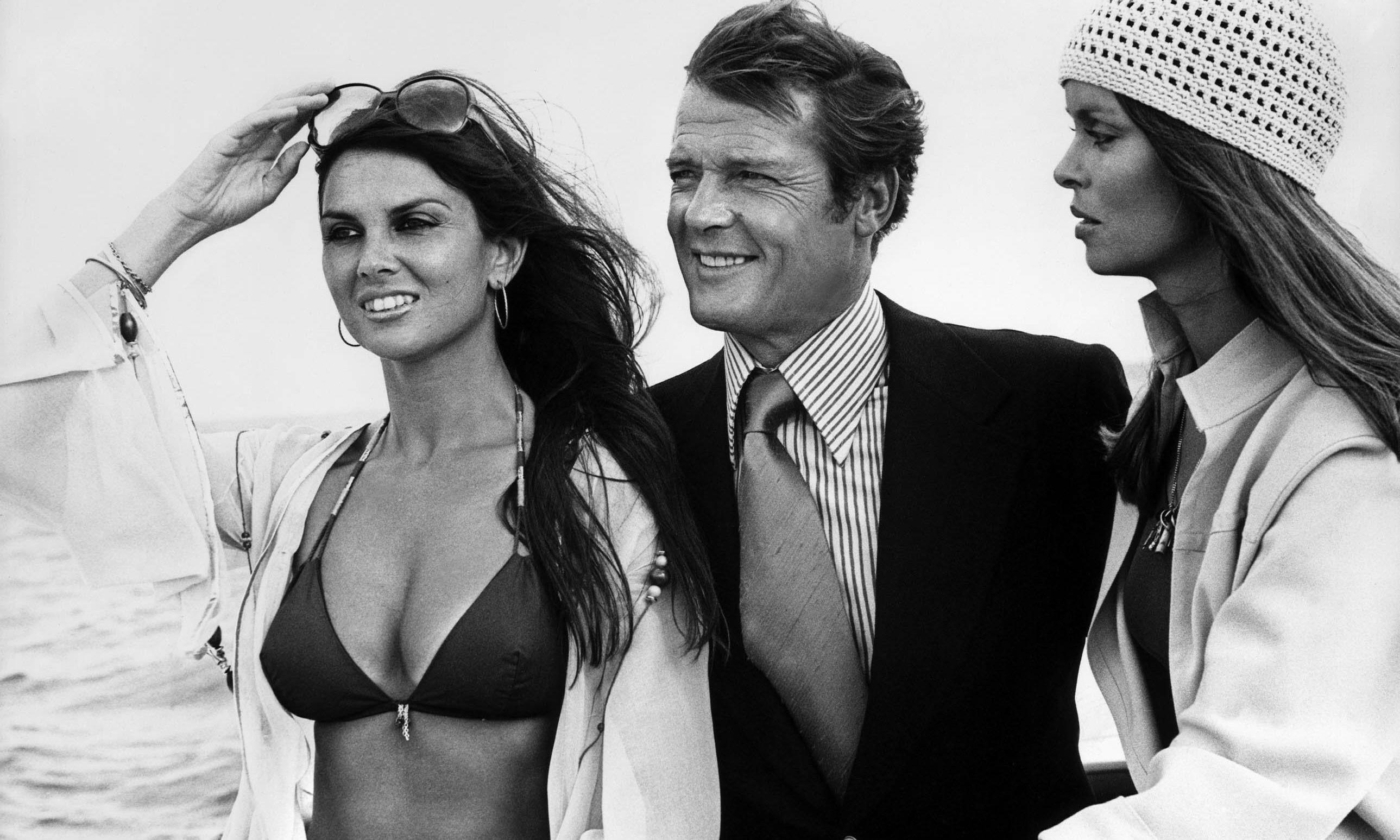 70s Bond girl Caroline Munro: 'I loved Roger Moore. His knitwear was classic'