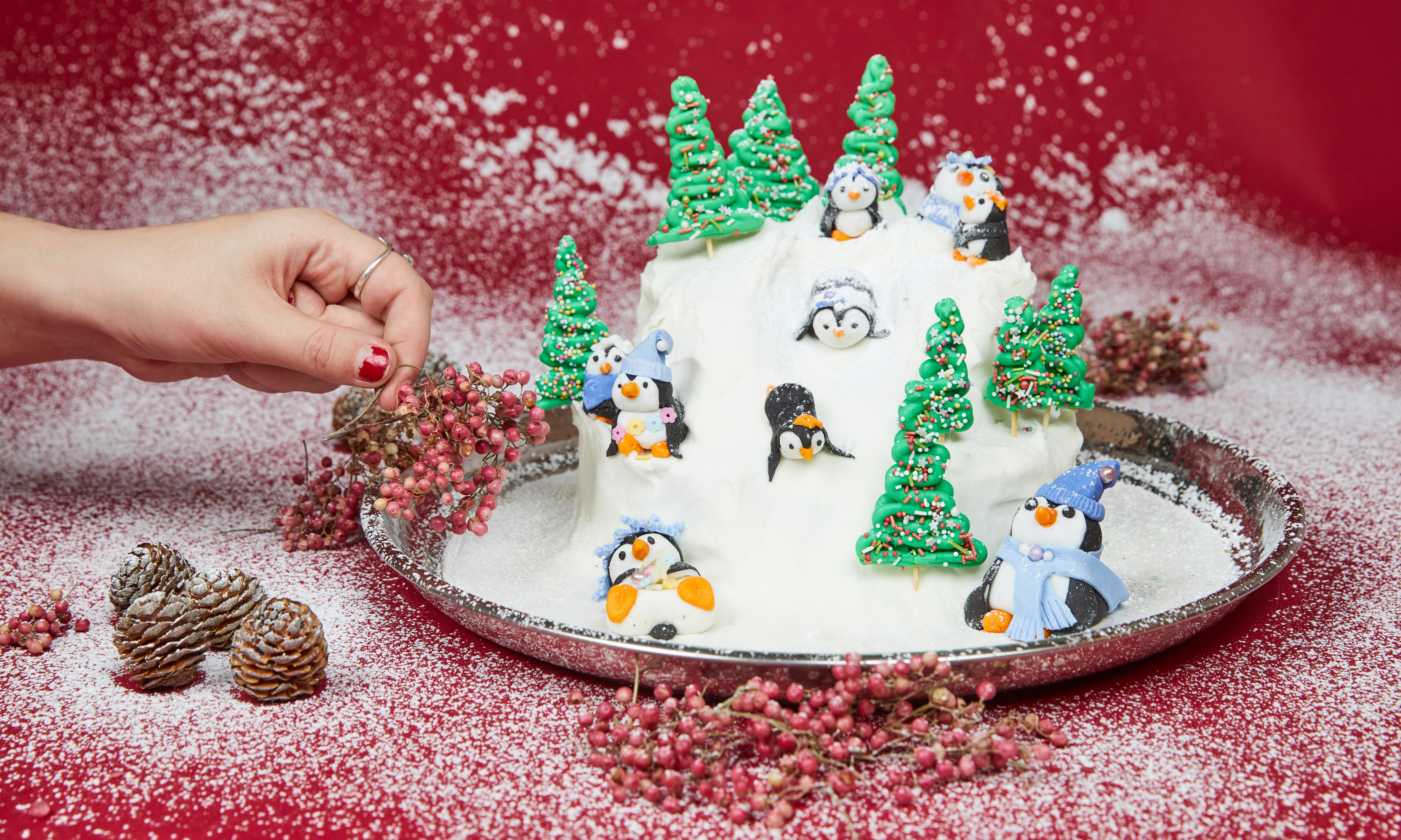 'Guests love the playful penguins': Kim-Joy's guide to a very edible Christmas