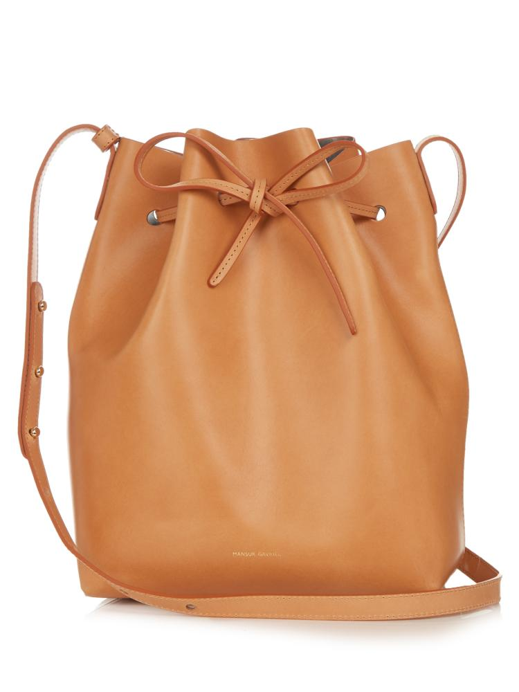 The Mansur Gavriel bucket bag, yours for £485.