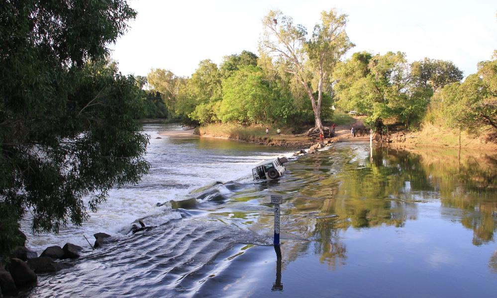 Cahill's Crossing between Kakadu and Arnhem Land in Australia's Northern Territory.