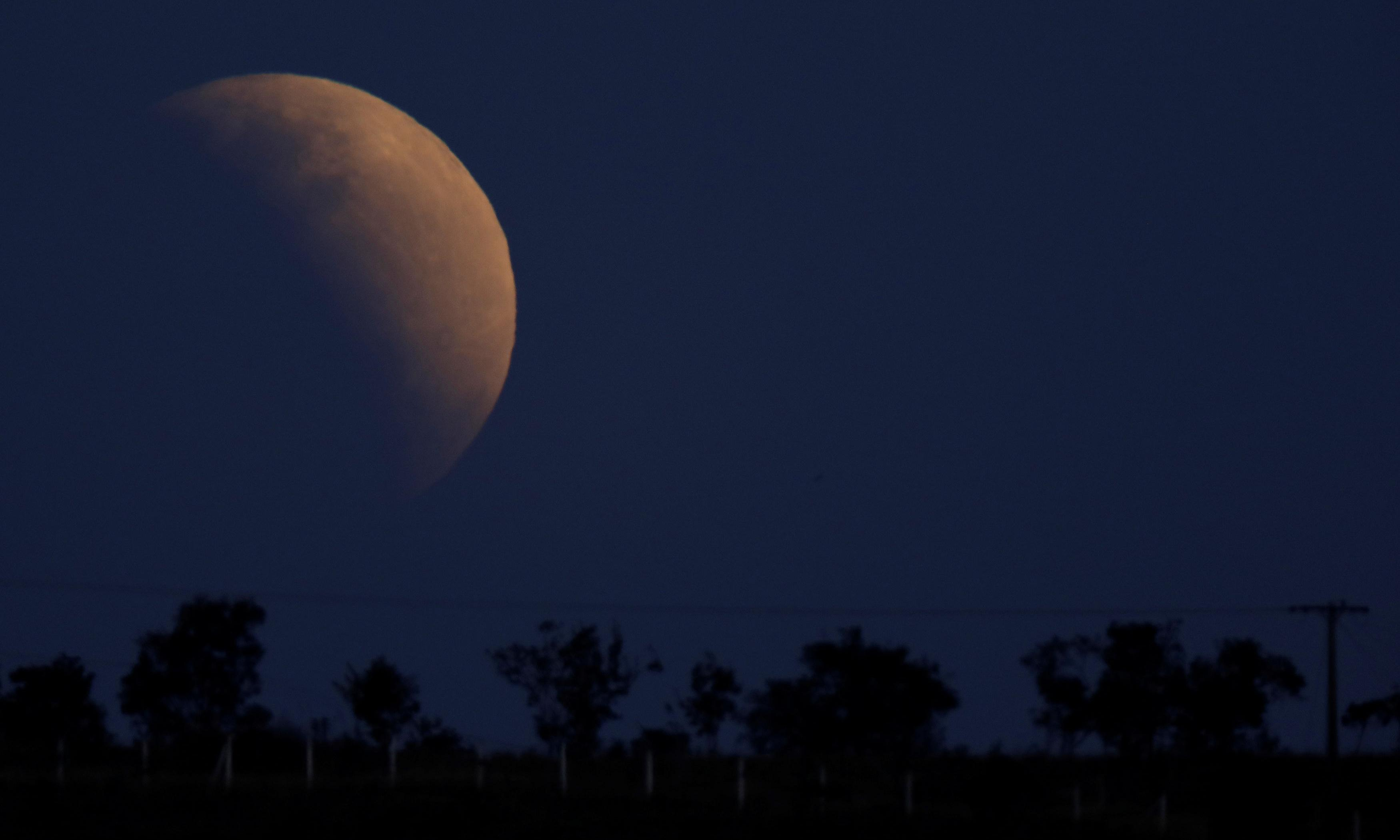 Lunar eclipse 2019: from Australia to the UK, stargazers enjoy bright side of the moon