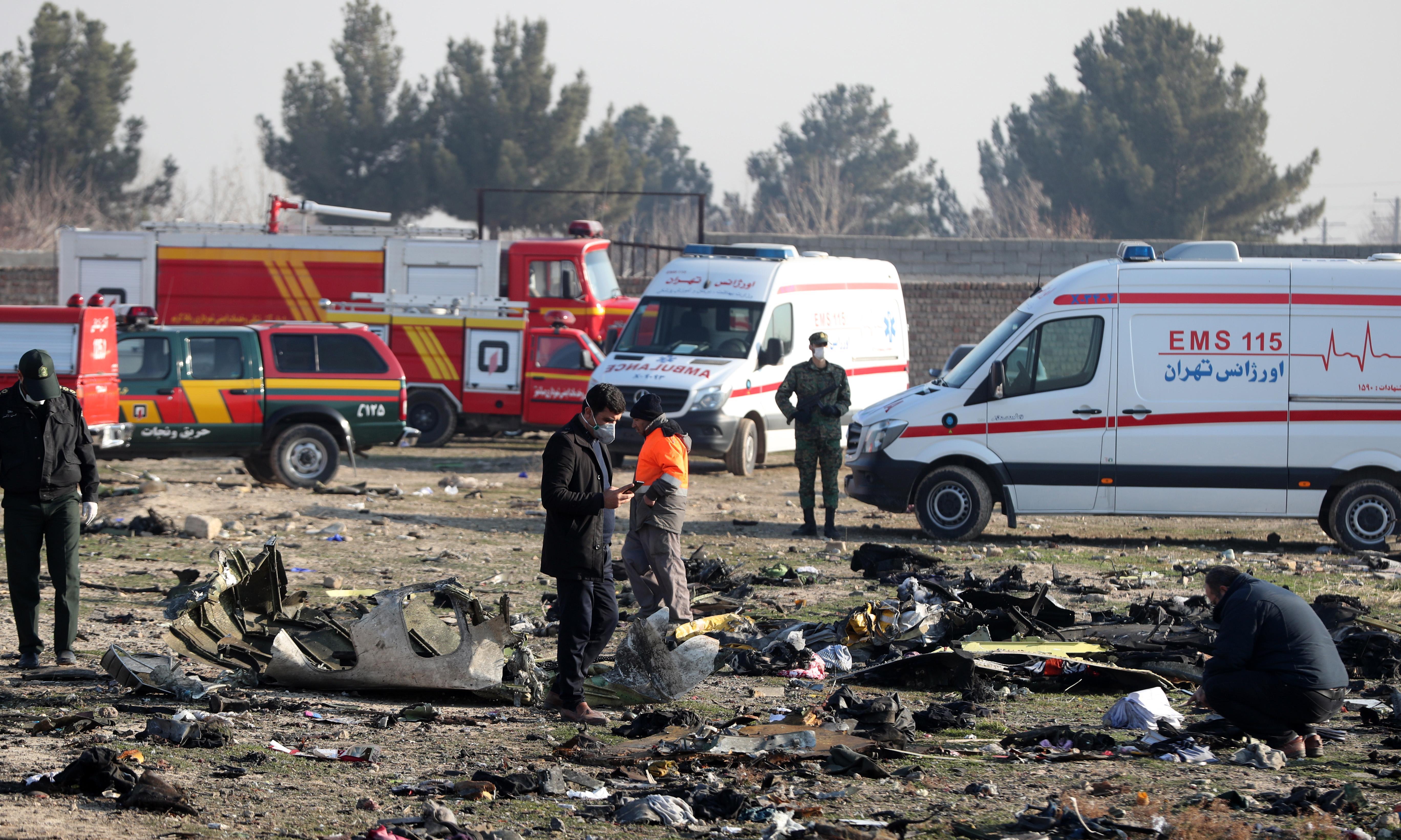 Iran admits it fired two missiles at Ukrainian passenger jet