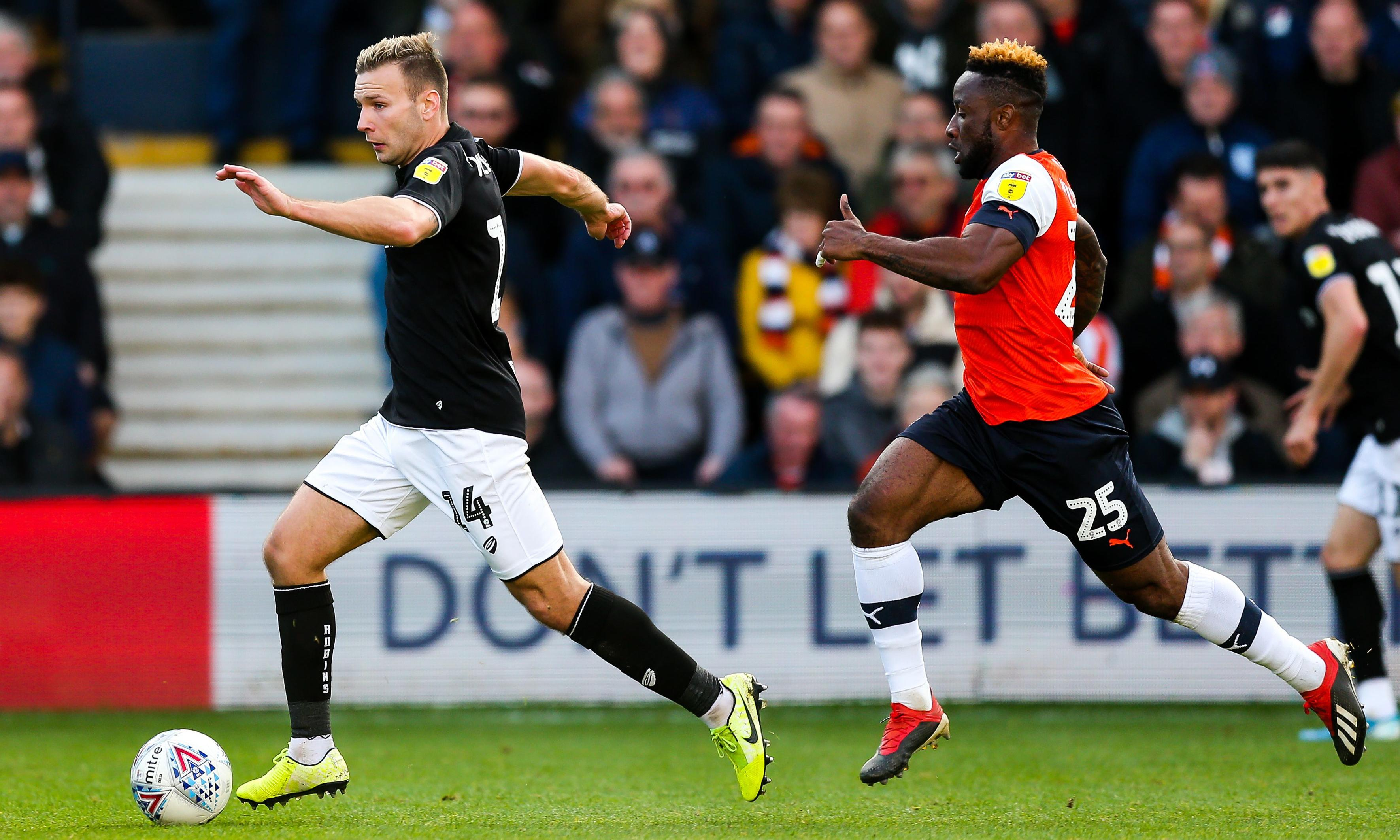 Bristol City investigate alleged racist chants by their fans at Luton supporters