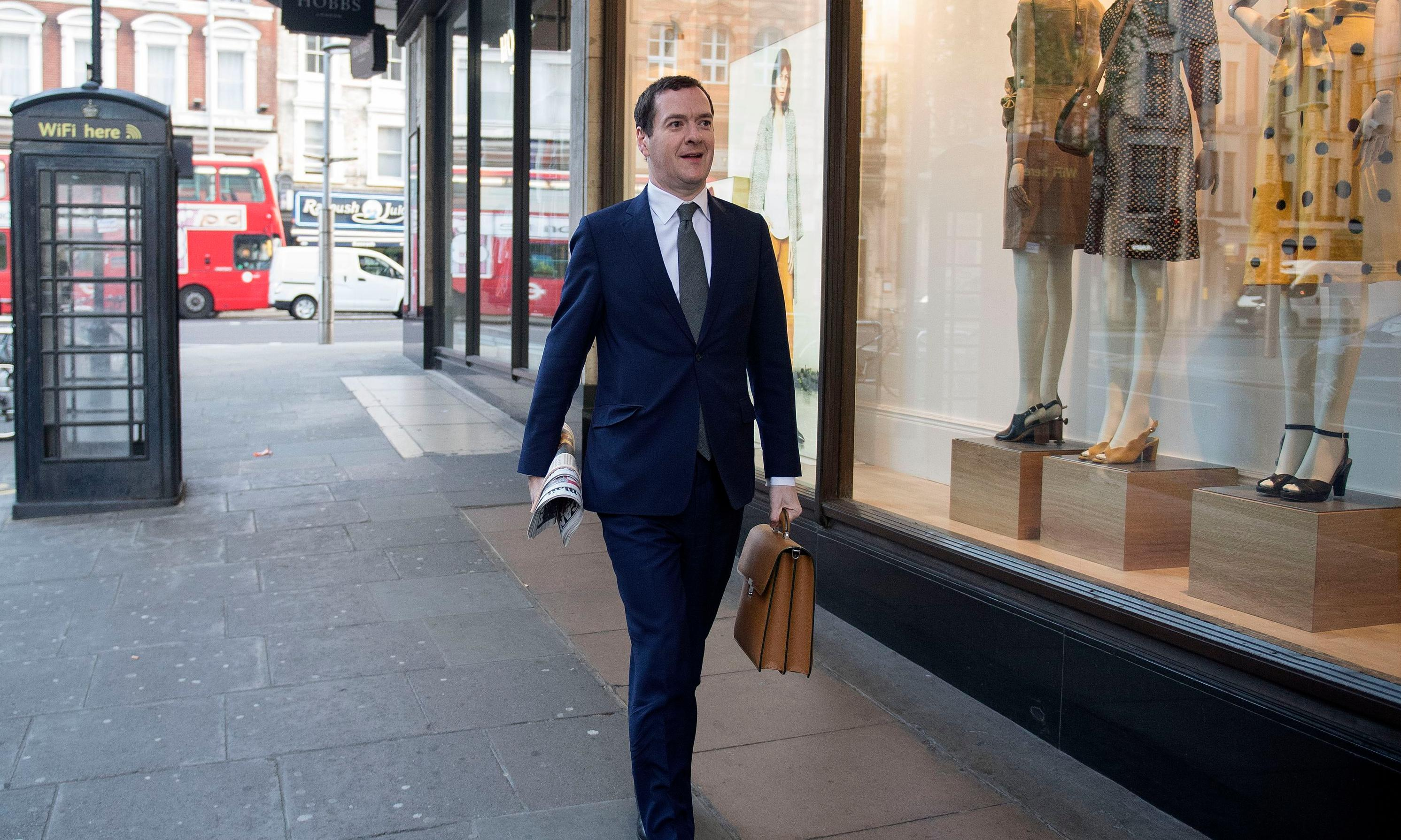 George Osborne's Evening Standard backs Lib Dems for EU elections