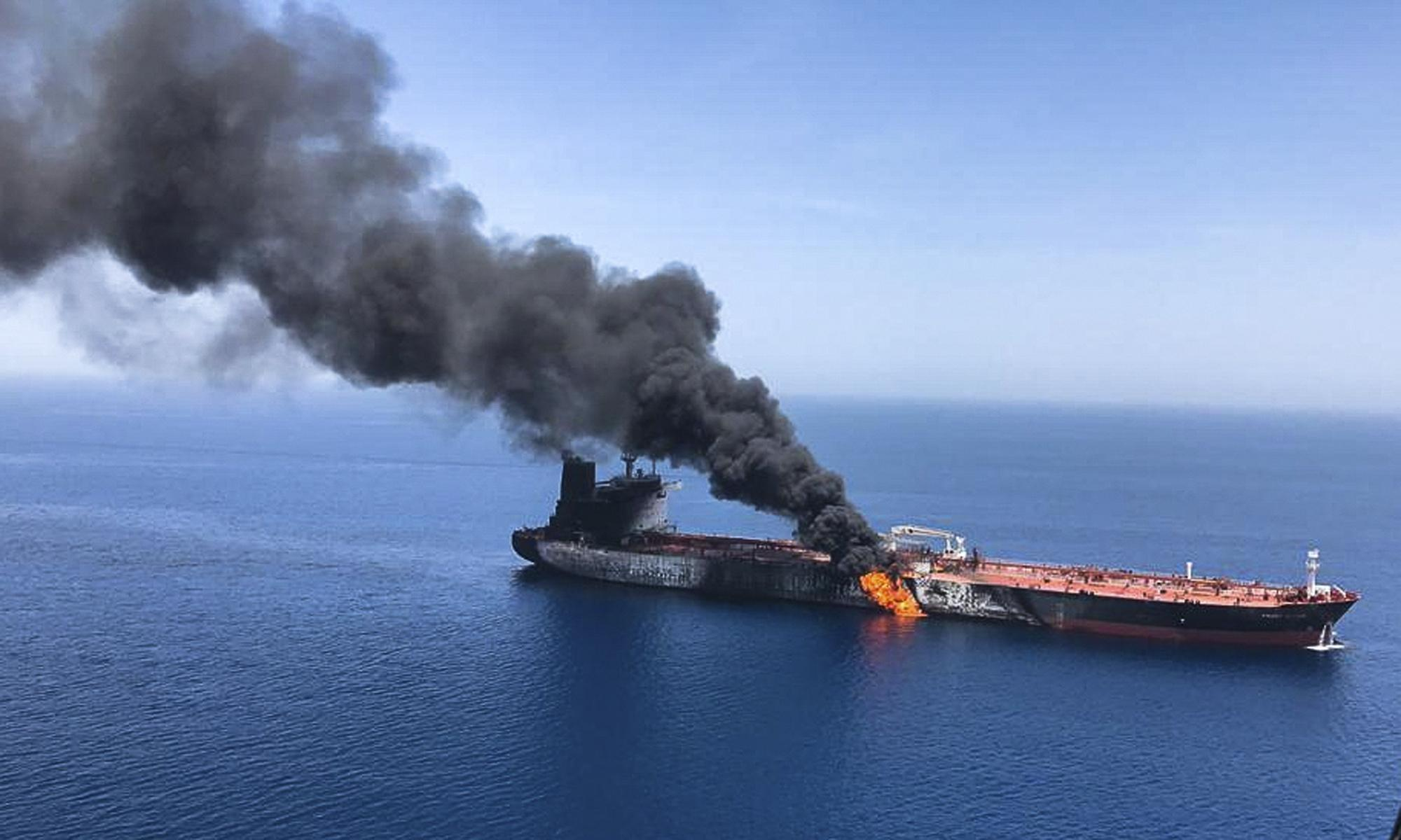 A visual guide to the Gulf tanker attacks