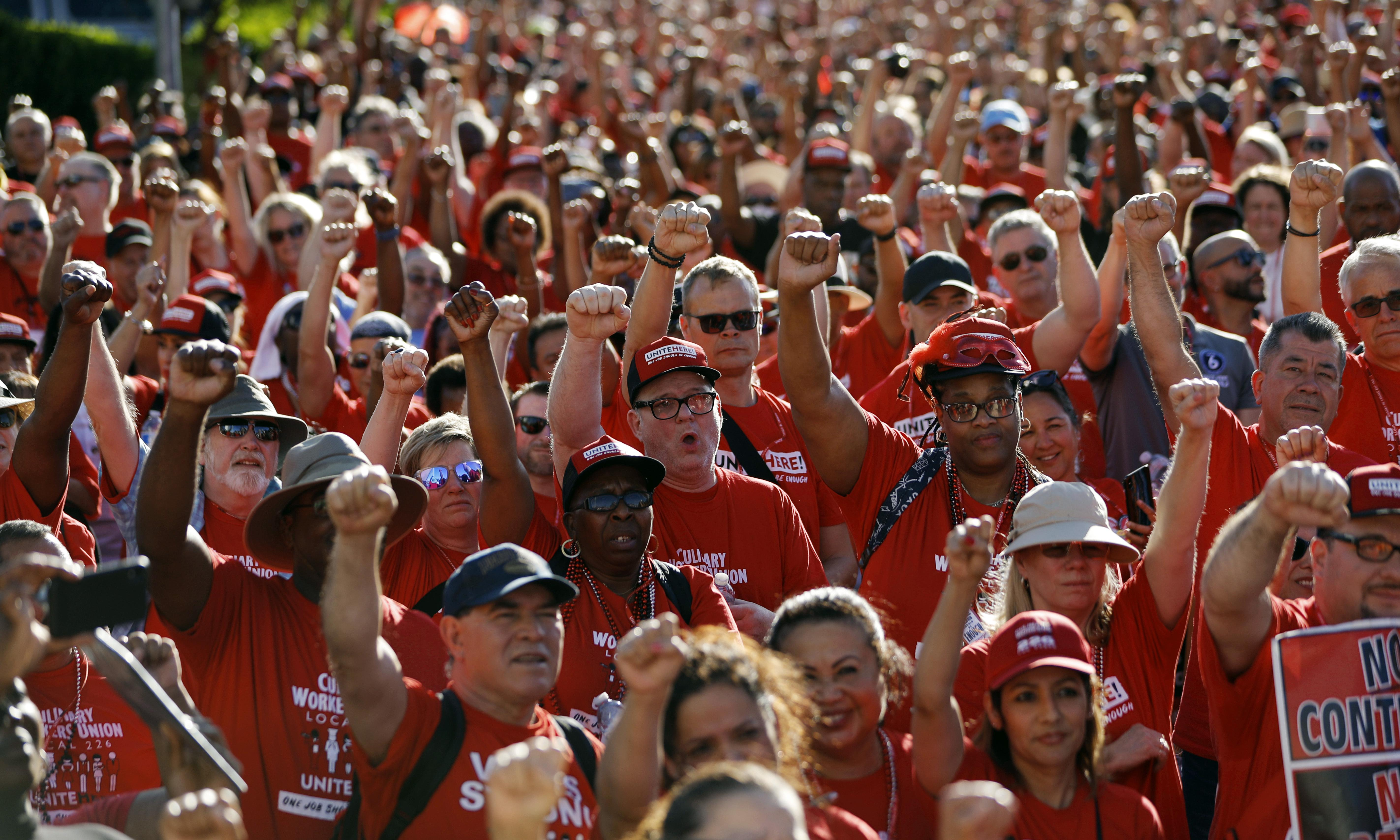 Nevada casino workers fight an uphill battle to get – and keep – their unions