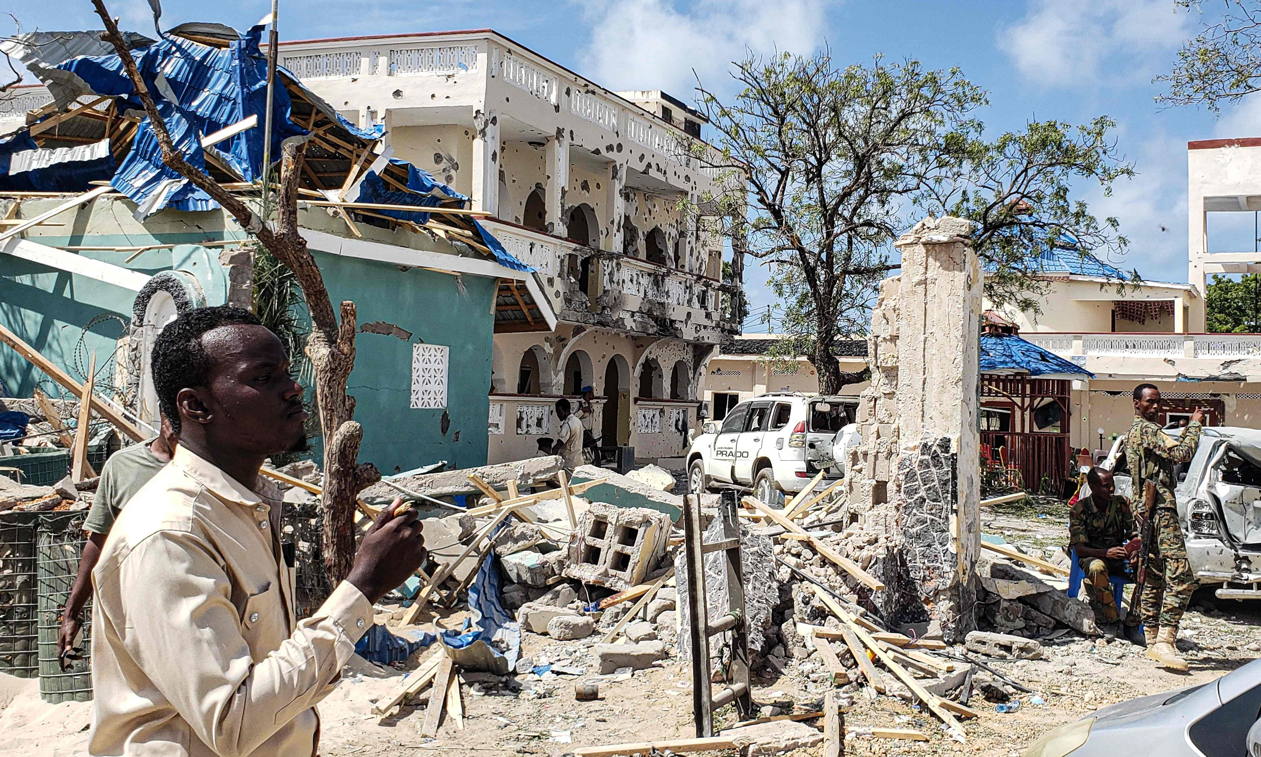 'Send her back' isn't just racist. It ignores the US's critical role in Somalia