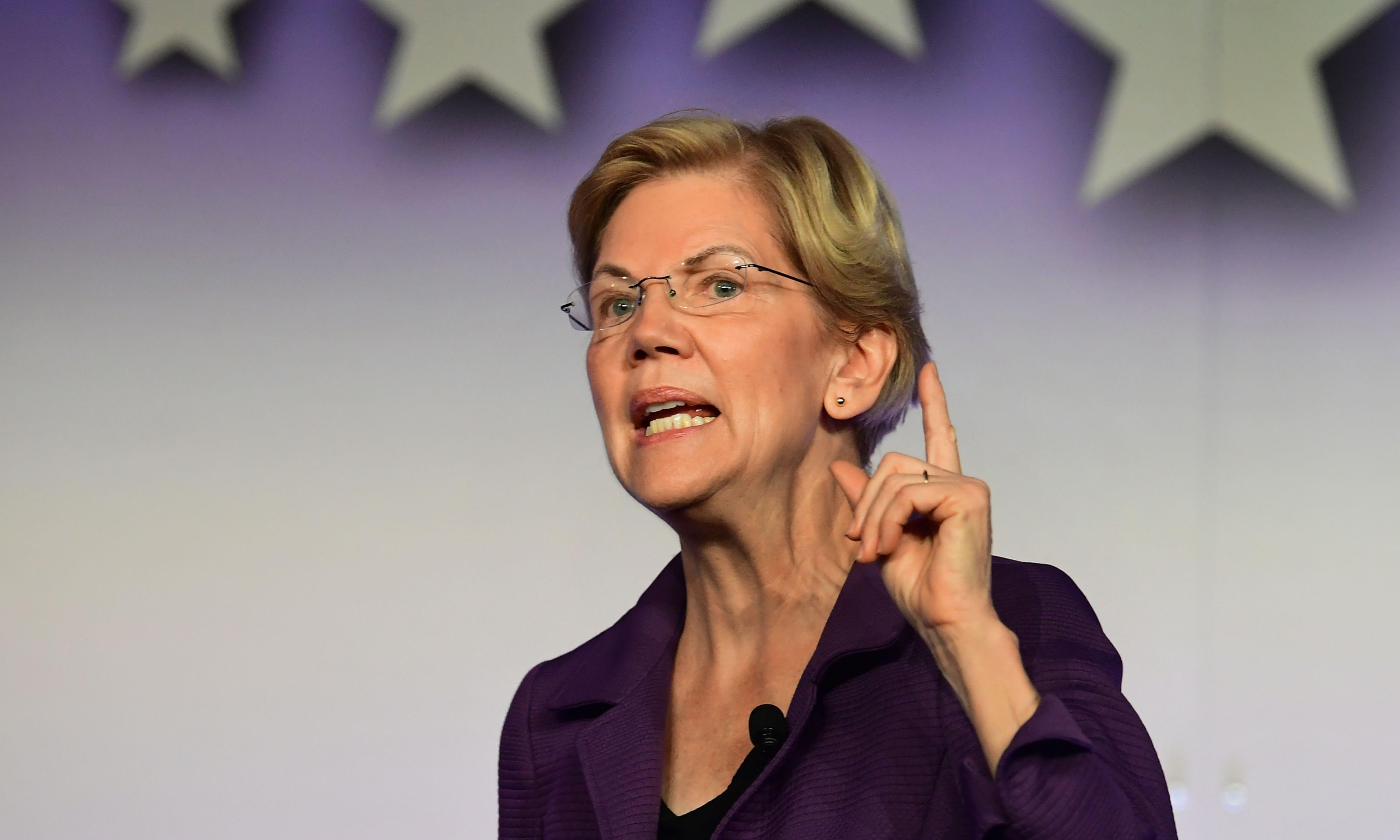 'Too much power': it's Warren v Facebook in a key 2020 battle