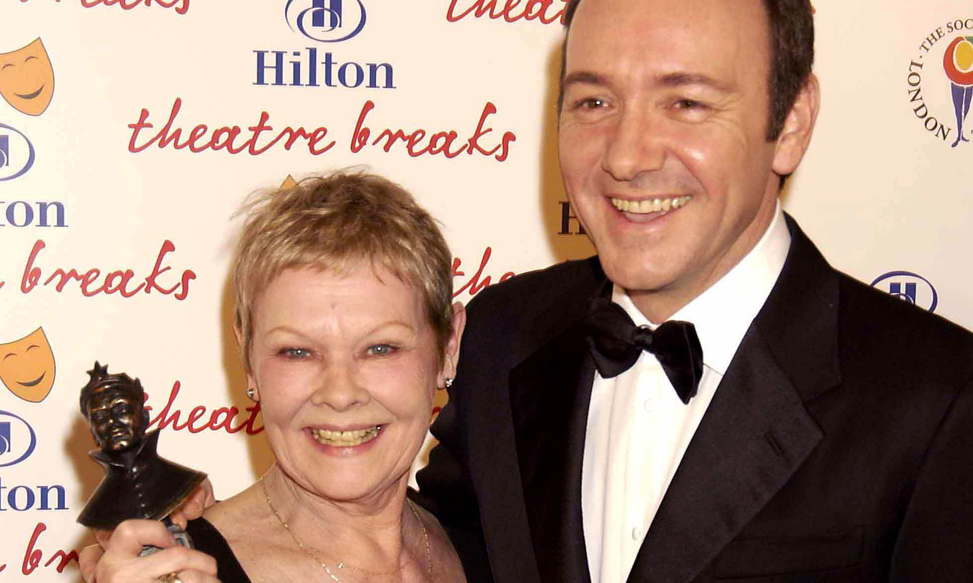 Judi Dench defends work of Kevin Spacey and Harvey Weinstein