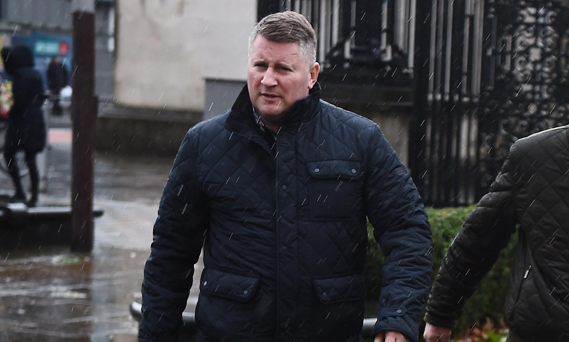 Britain First leader Paul Golding charged by anti-terror police