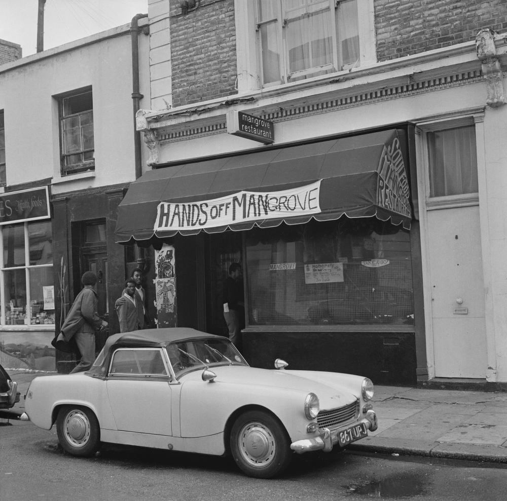 The Mangrove restaurant in August 1970.