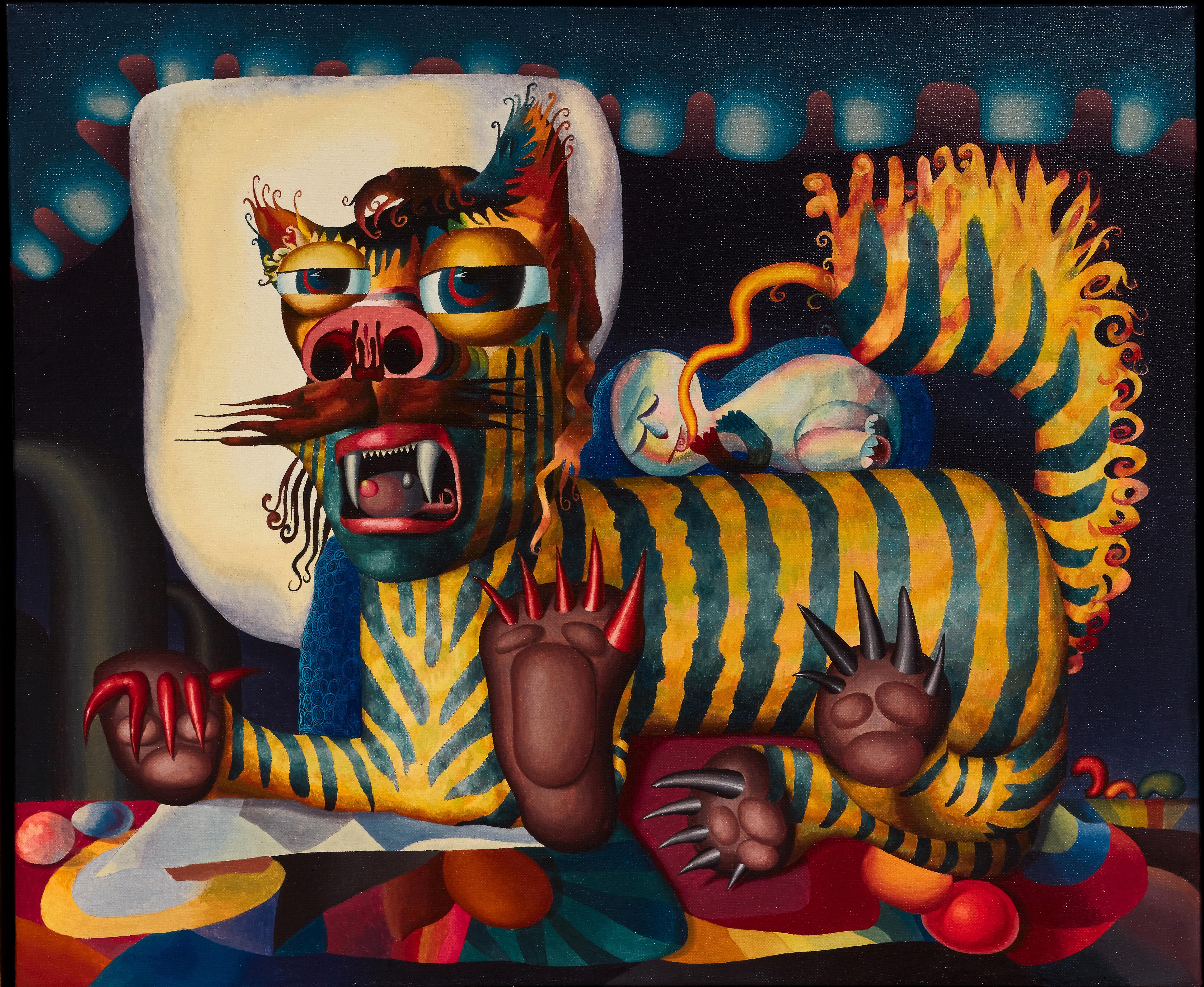 Reuben Mednikoff's The Bengal Colonel: interpretation of a feline dream