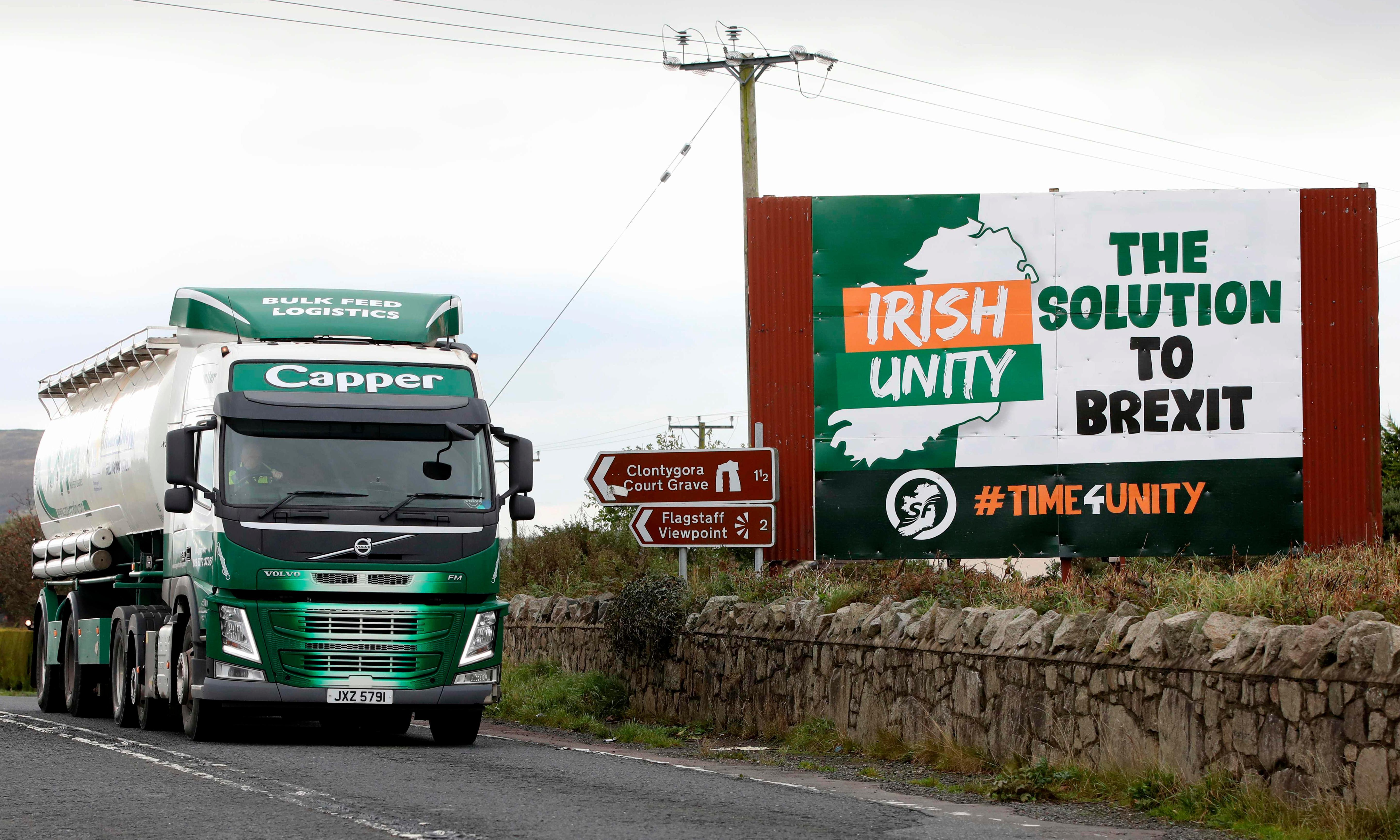 Irish border checks risk creating a 'depressing, jobless' region