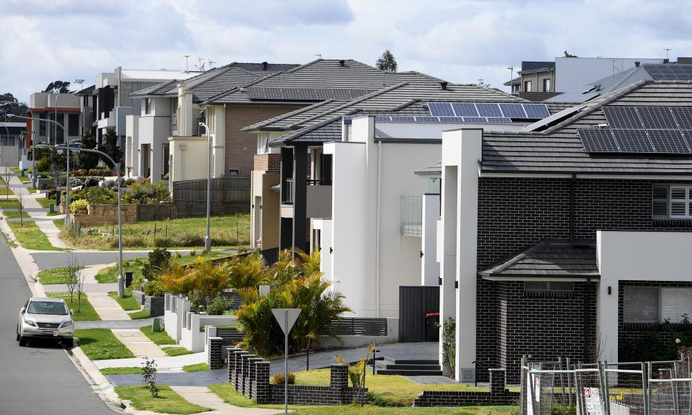 Houses in Sydney's north-west