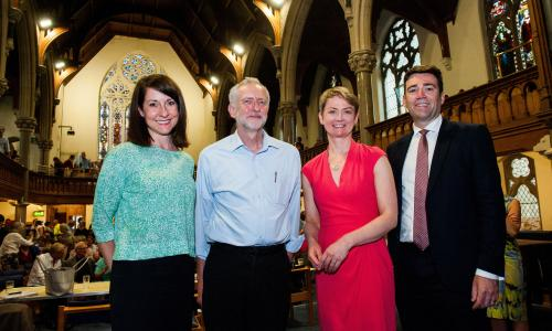 Labour leadership campaigners<br>Mandatory Credit: Photo by Roger Askew/REX Shutterstock (4904769a)