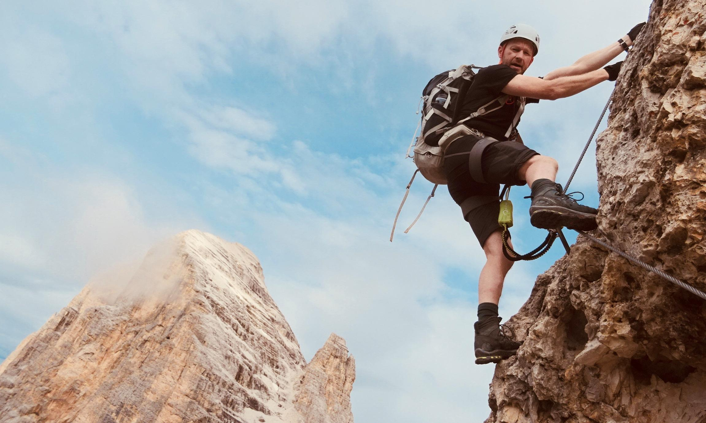 Truly, madly, steeply: a via ferrata tour of the Dolomites
