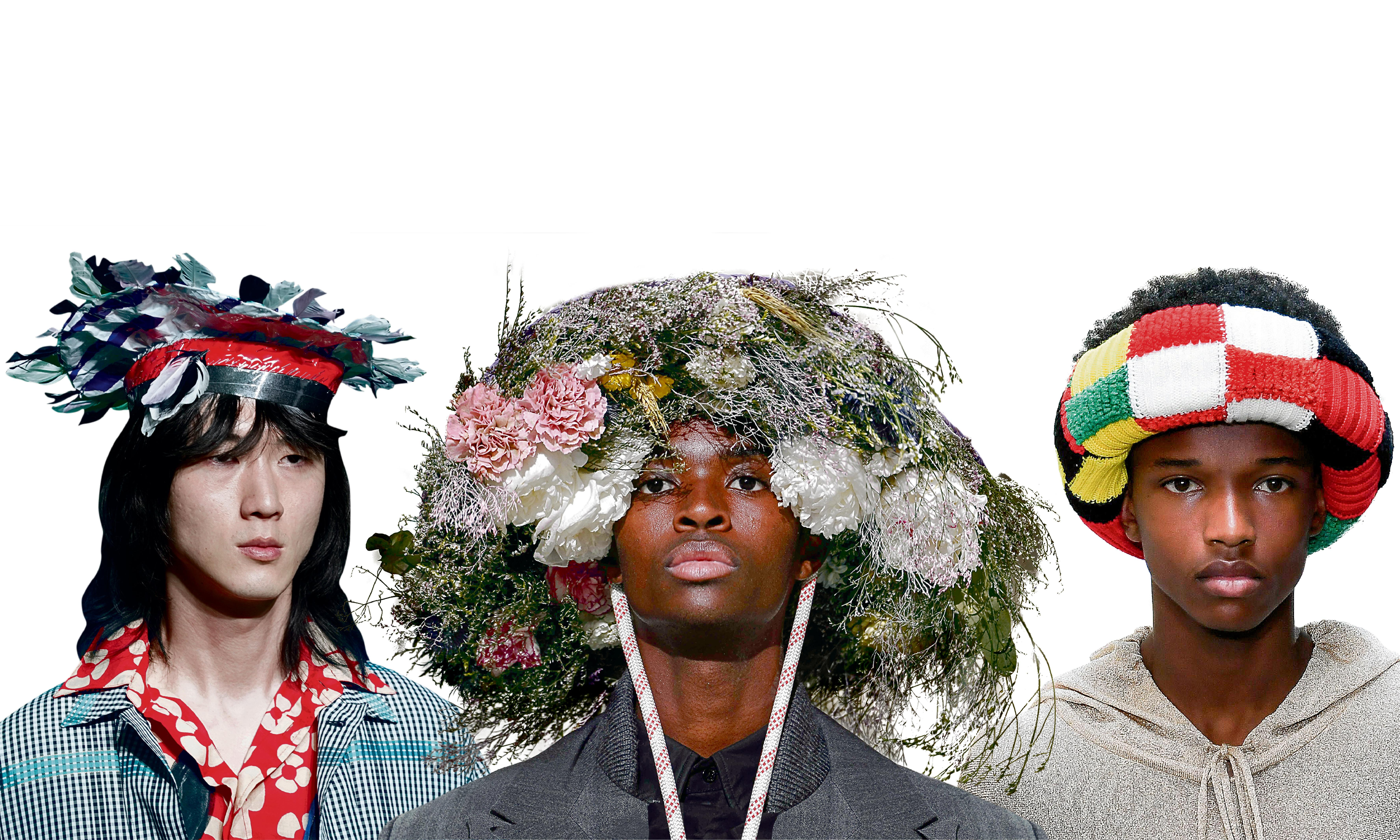 Hang on to your hat! How headgear is taking over from trainers in menswear