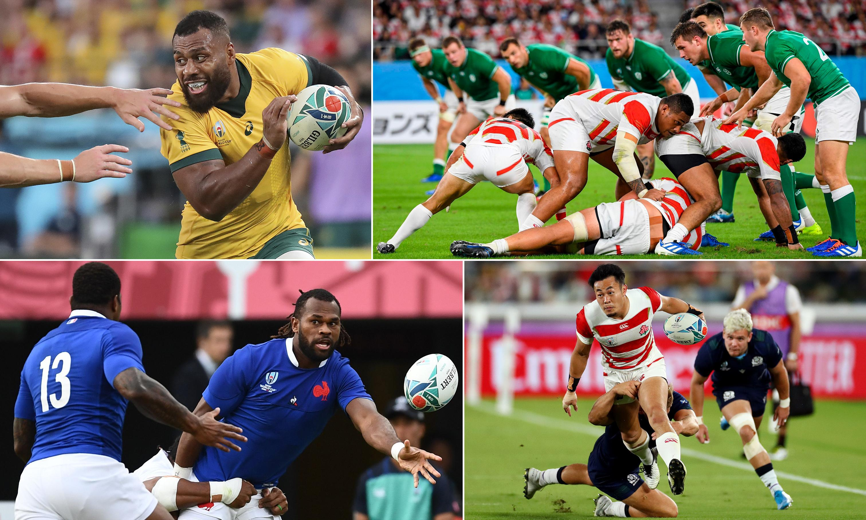 Rugby World Cup 2019: where the quarter-finals will be won and lost