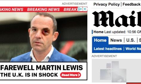 Martin Lewis calls for publishers to act over fake news ads