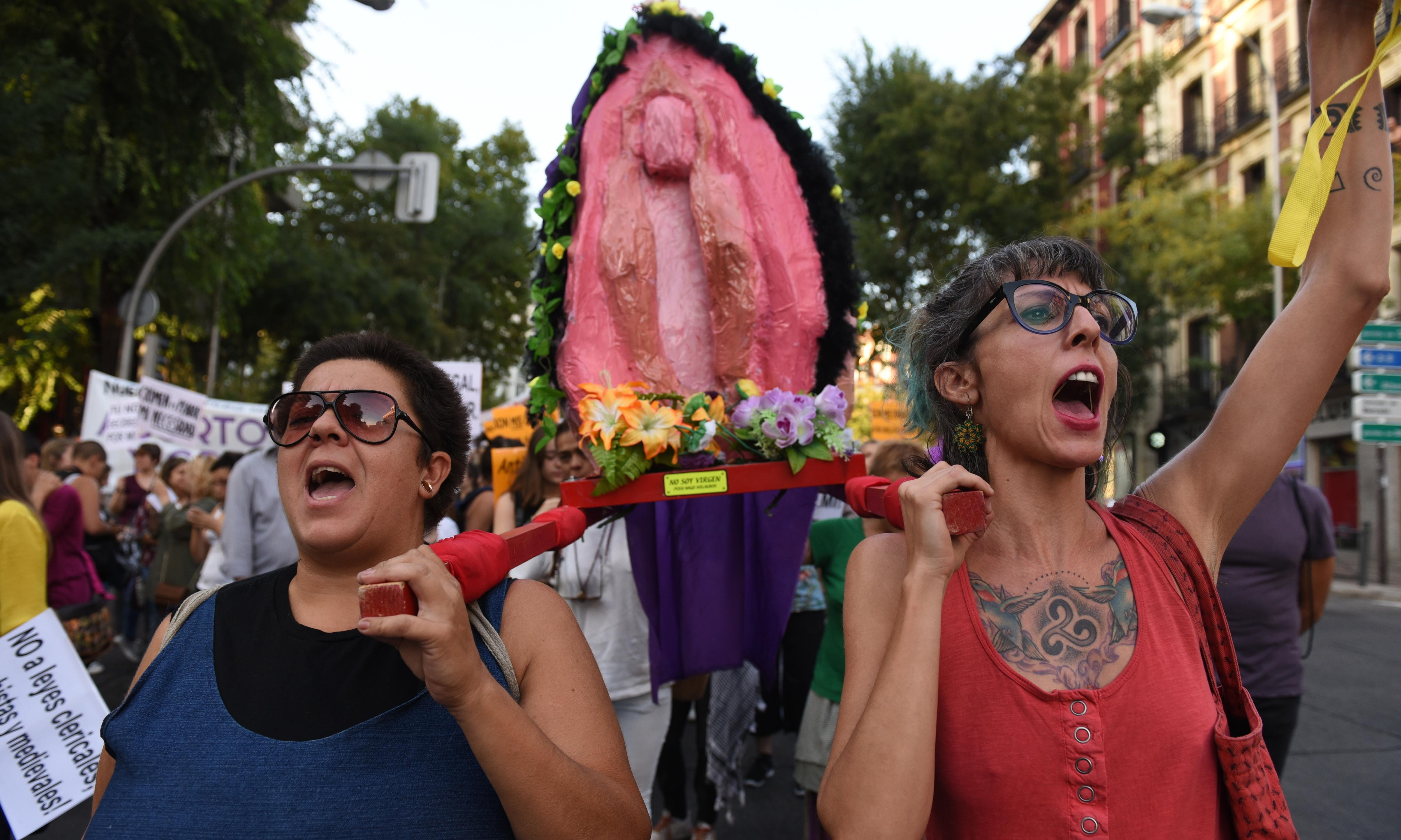 Seville judge throws out 'rebellious pussy' effigy case