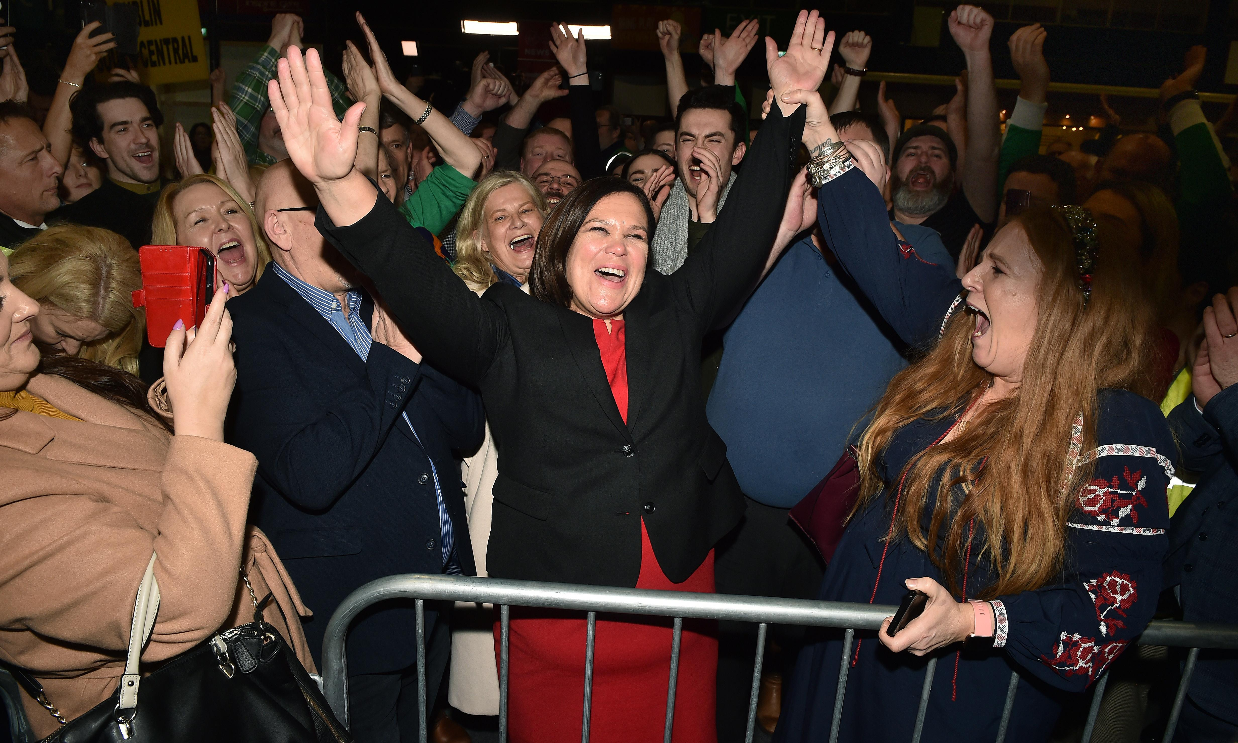 Monday briefing: Sinn Féin's Irish 'revolution'