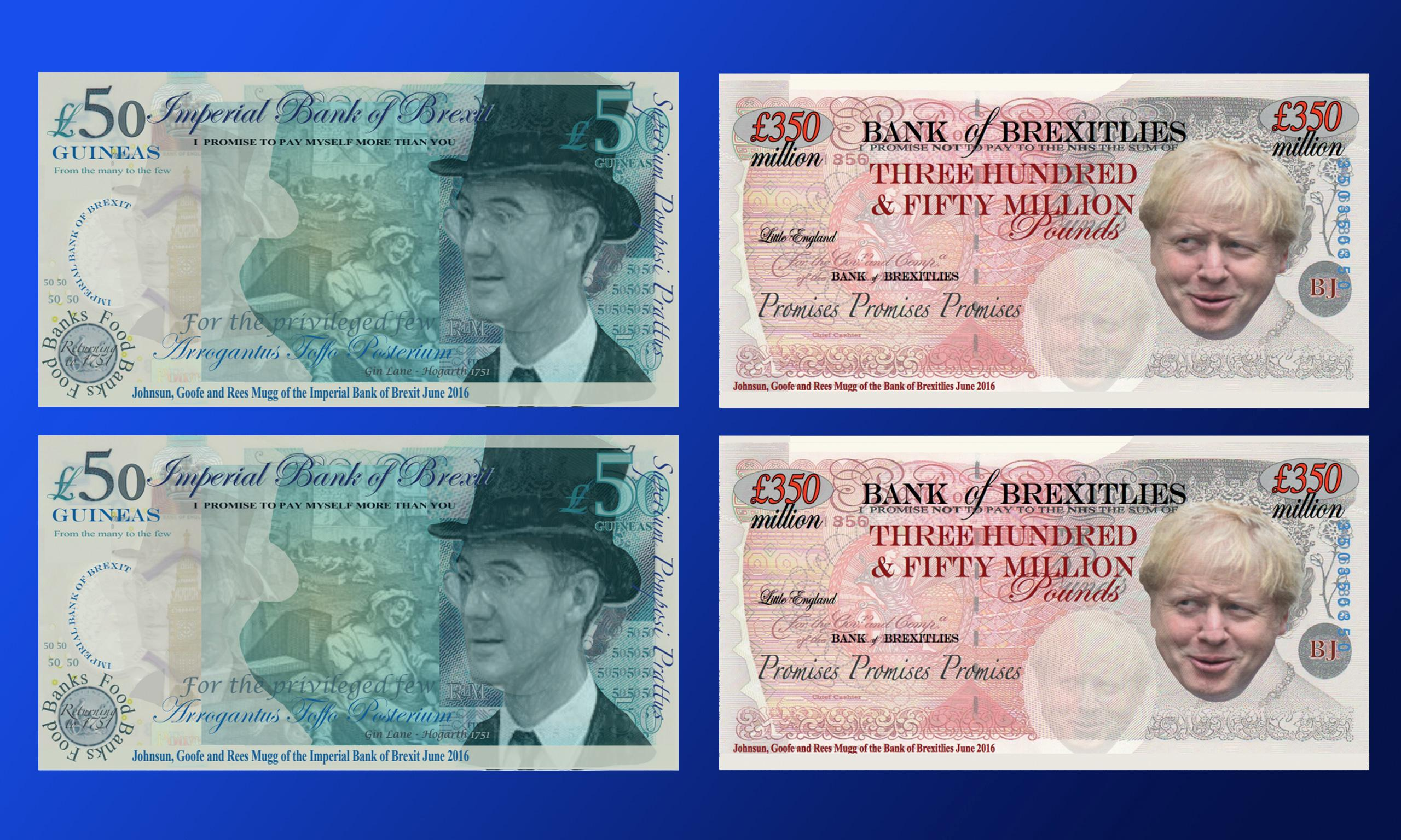 Fake anti-Brexit banknotes added to British Museum collection