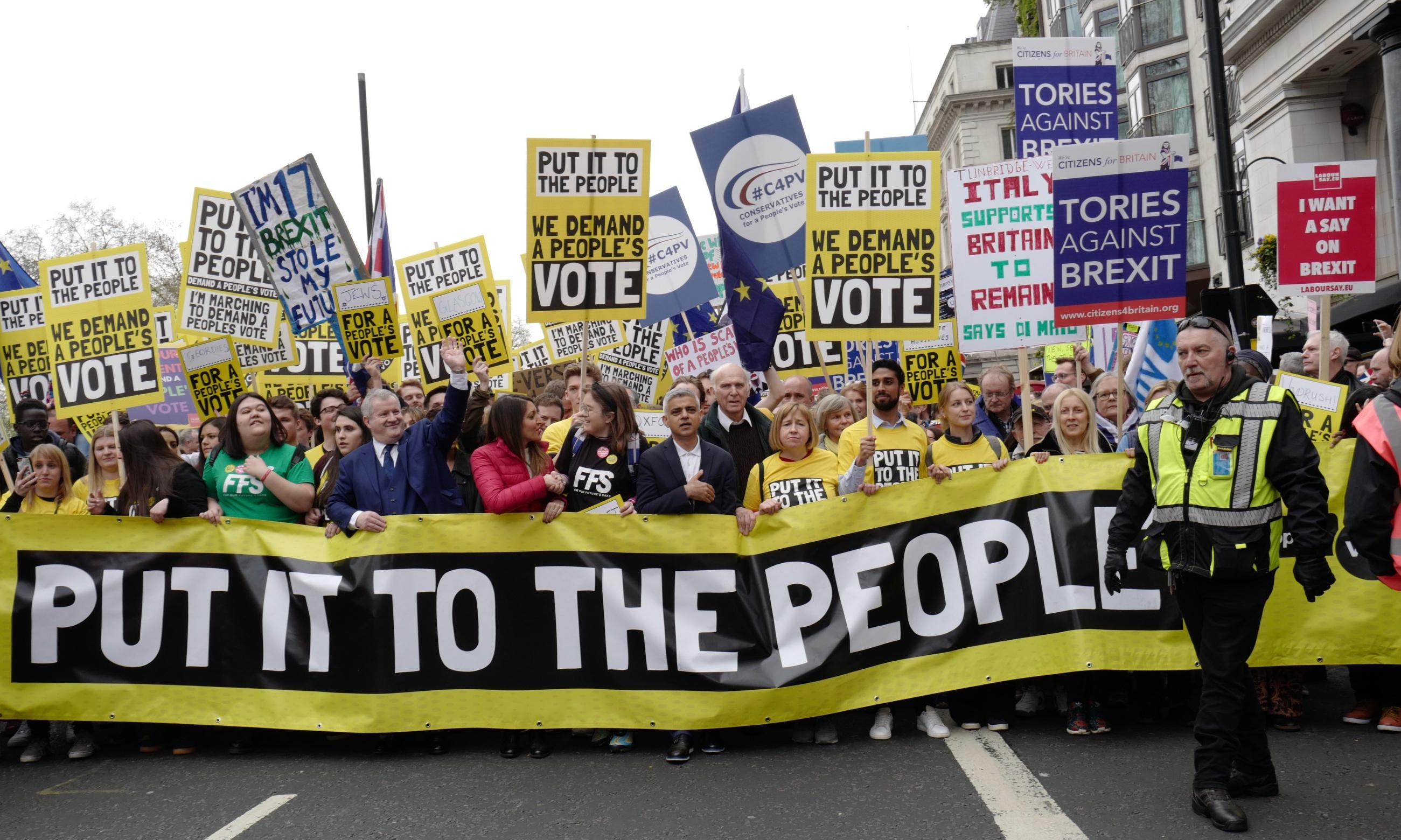The Observer view: the people have marched; now MPs must take up the challenge