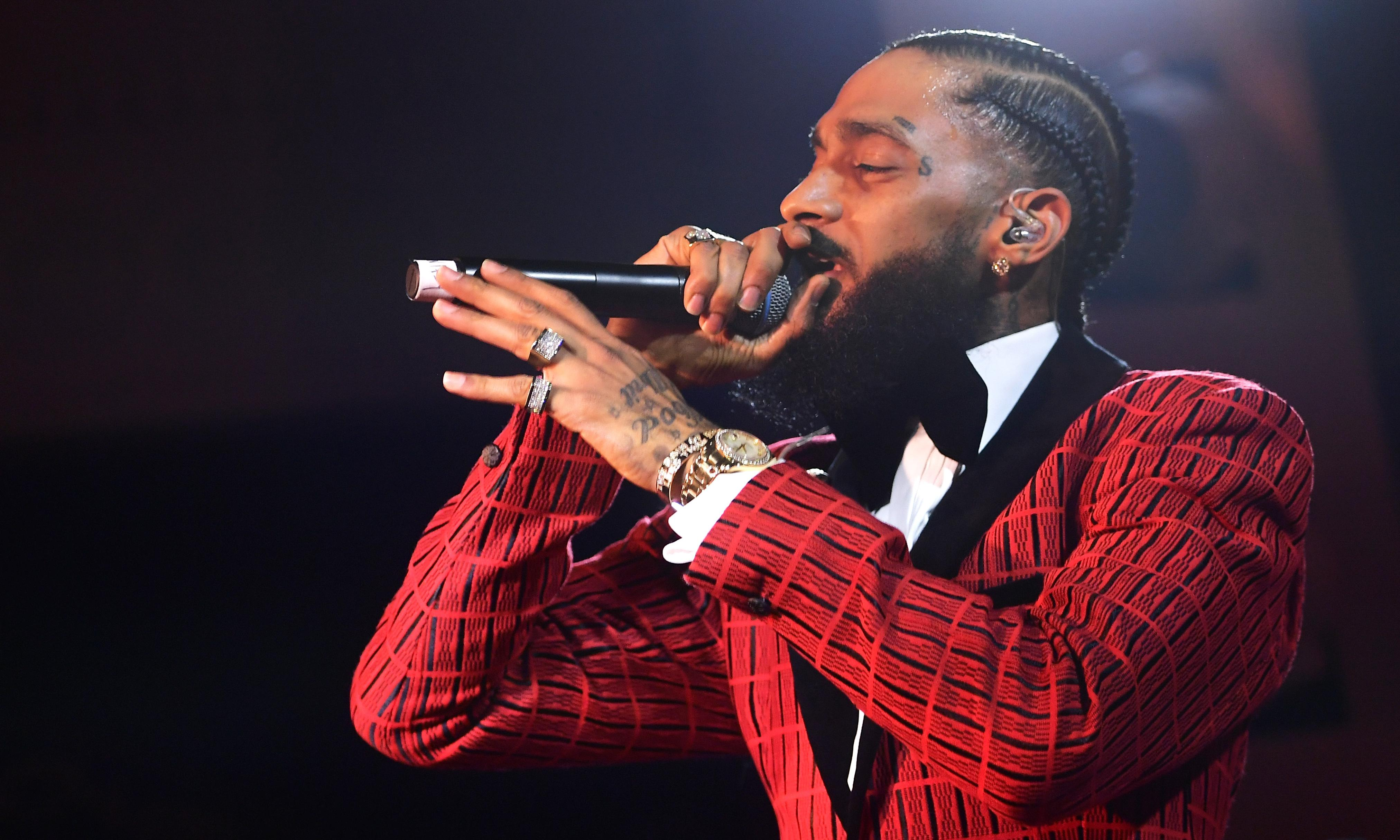 Nipsey Hussle: Los Angeles community outraged at 'disgusting' police investigation into late rapper's business