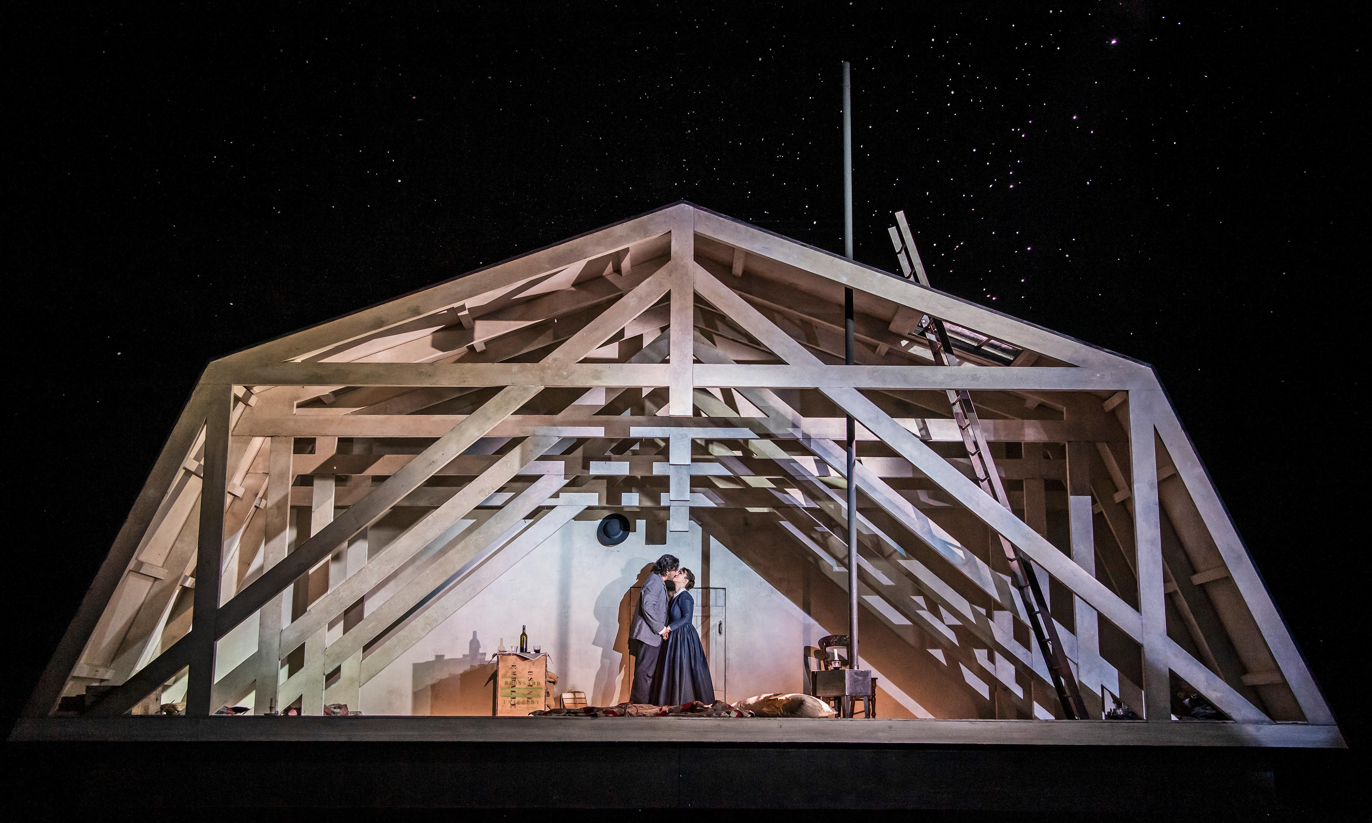 The week in classical: La bohème; Nature Unwrapped review – from the garret to the stars