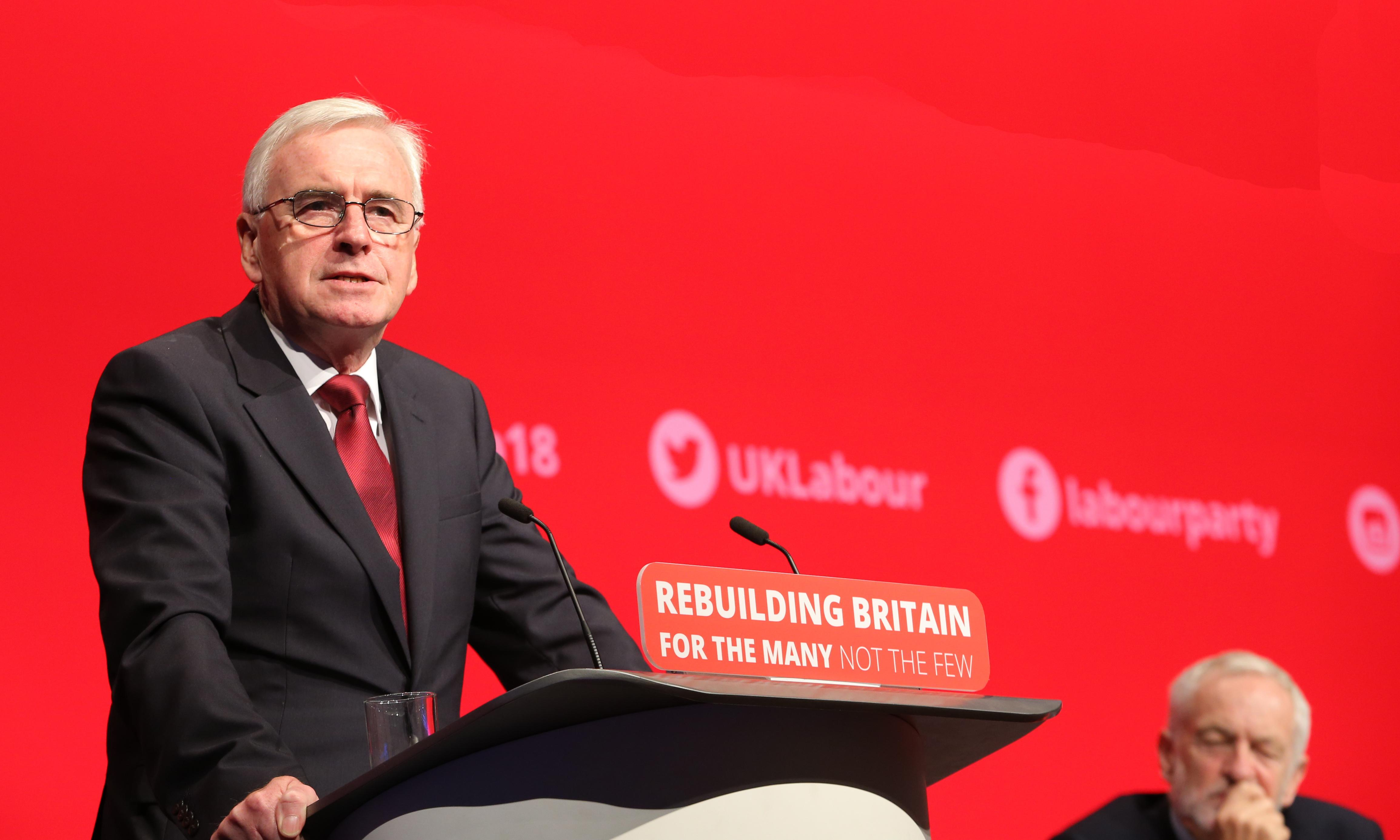 John McDonnell's plan to tackle inequality should not scare off the bosses